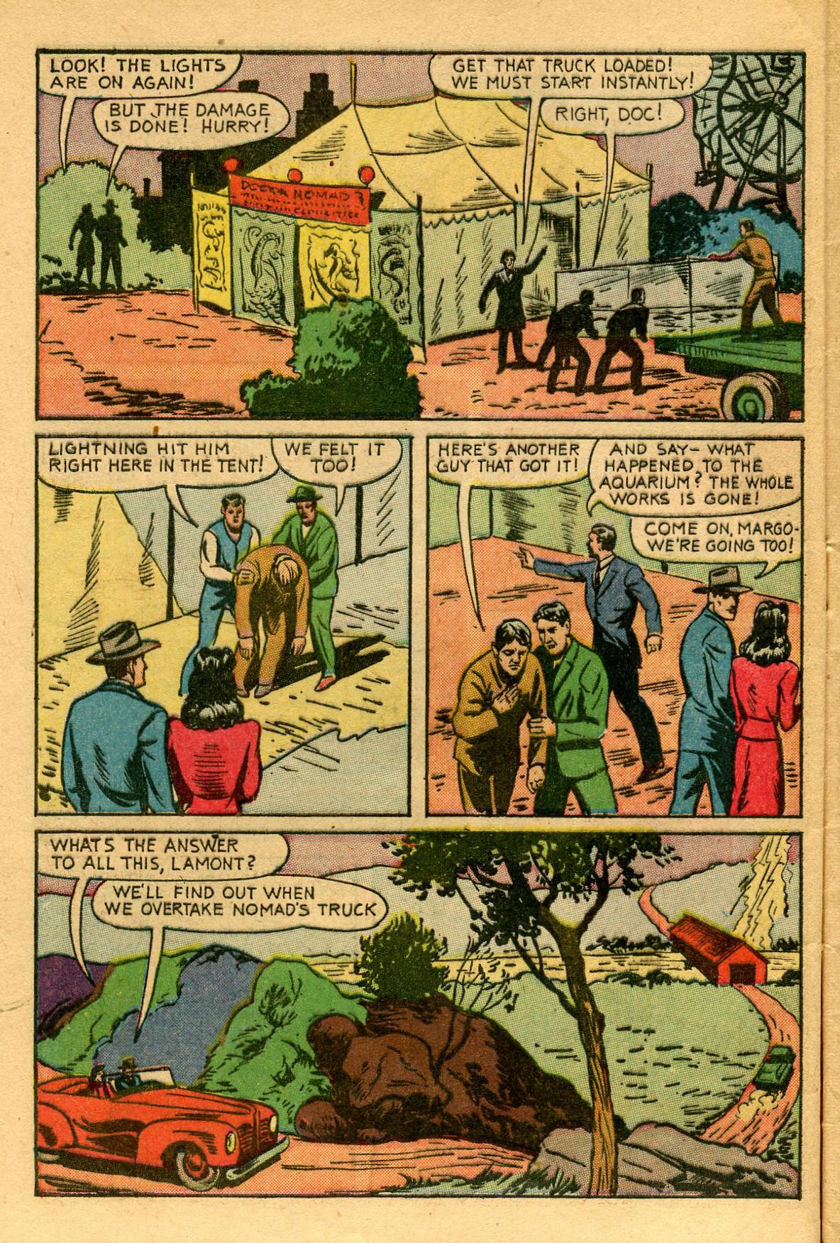 Read online Shadow Comics comic -  Issue #53 - 7