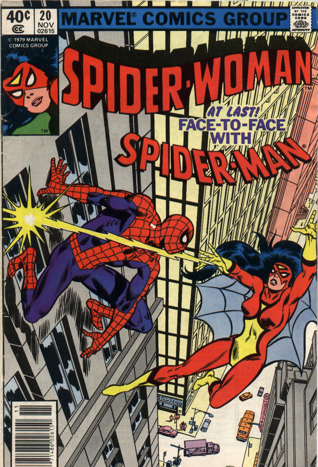Spider-Woman (1978) issue 20 - Page 1