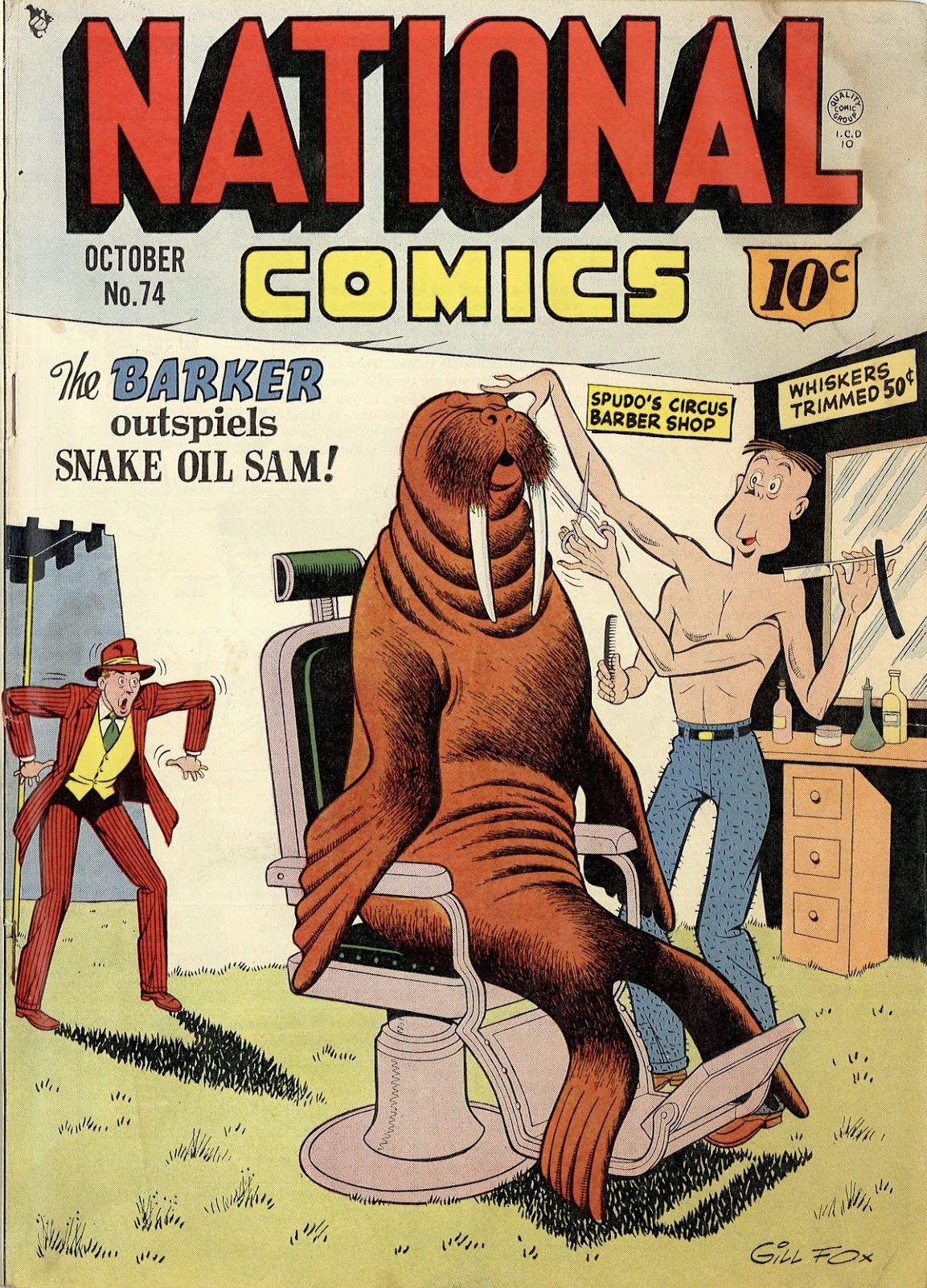 National Comics (1940) issue 74 - Page 1