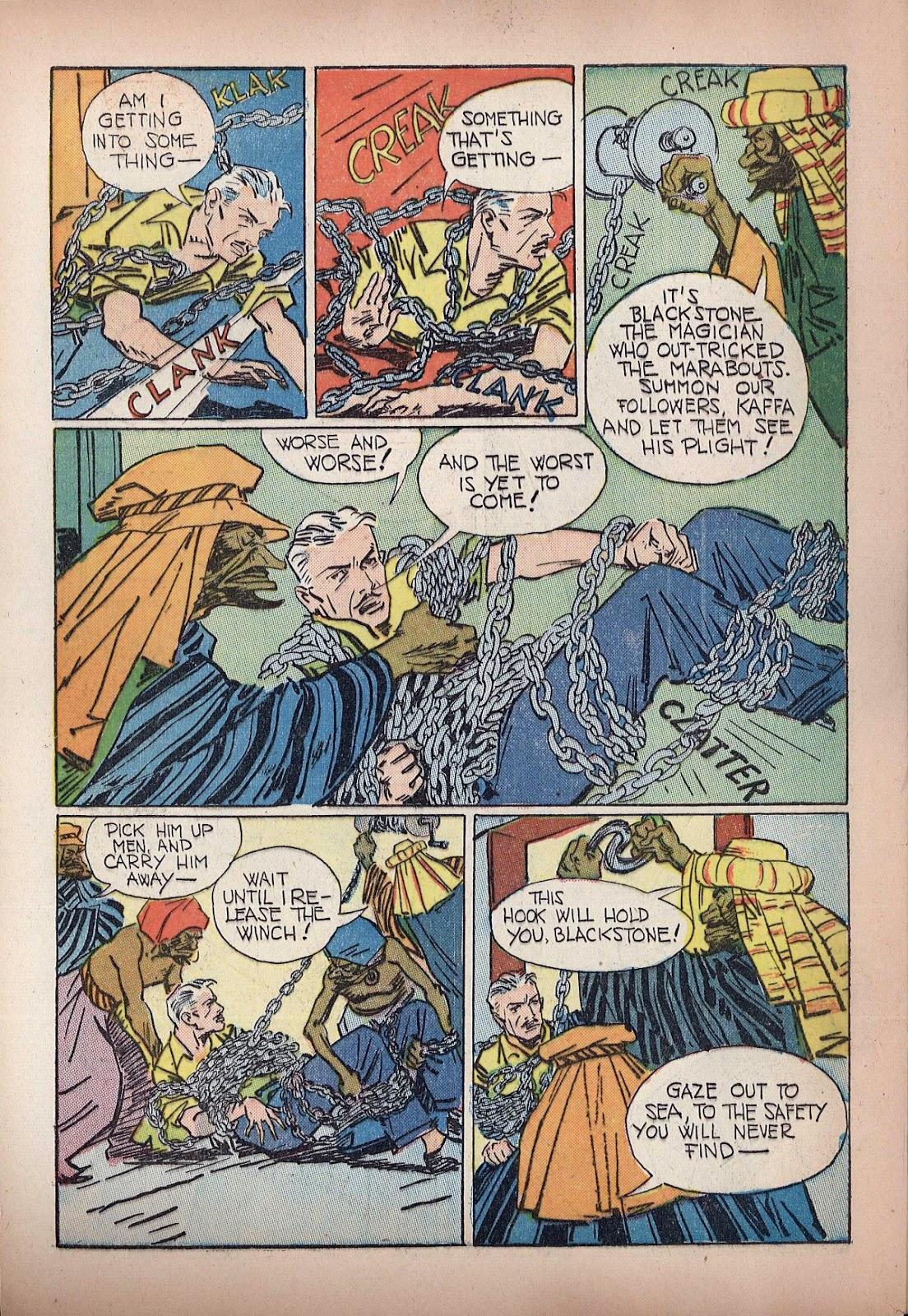 Read online Super-Magician Comics comic -  Issue #20 - 48