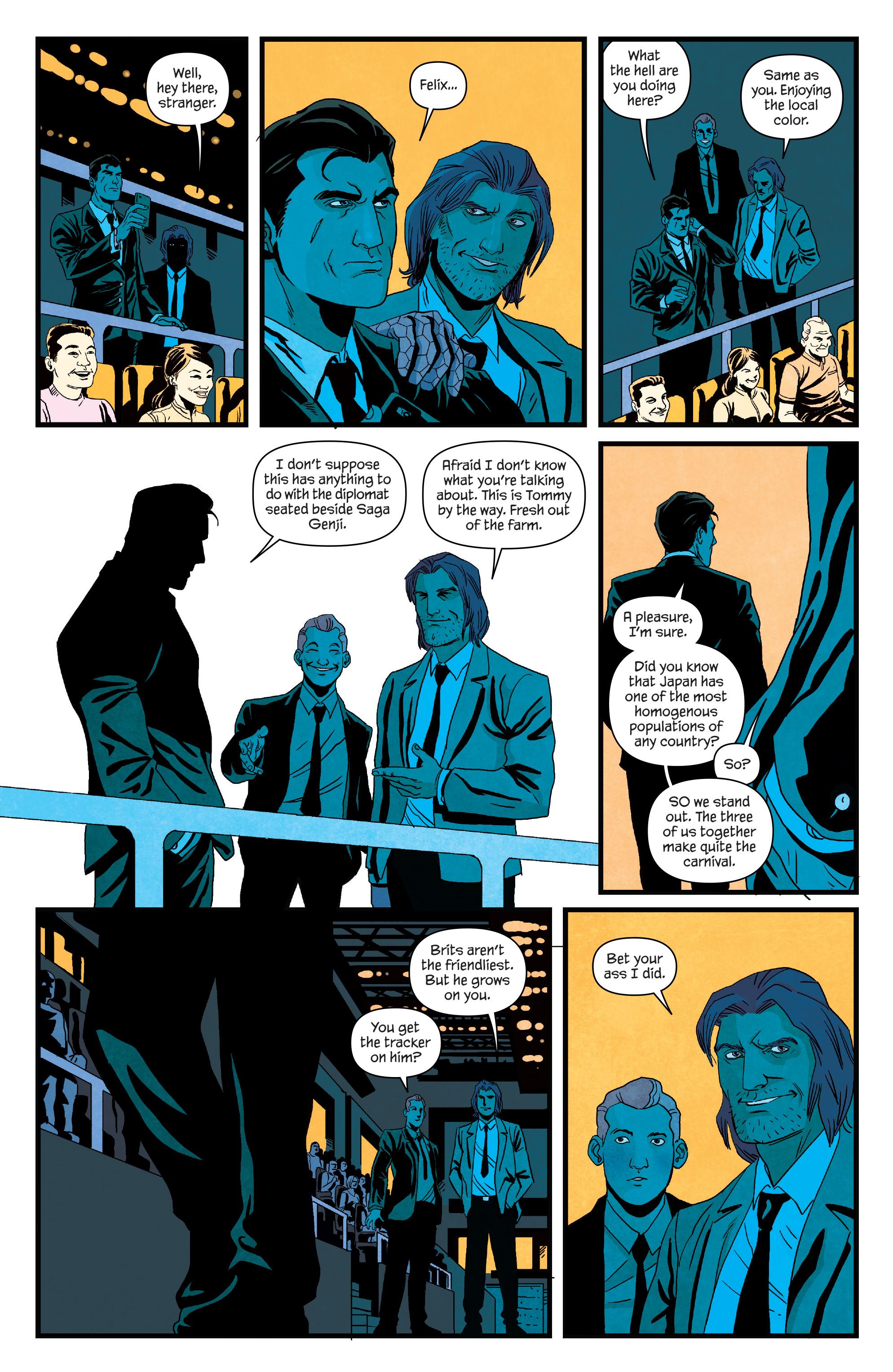 Read online James Bond (2017) comic -  Issue #3 - 12