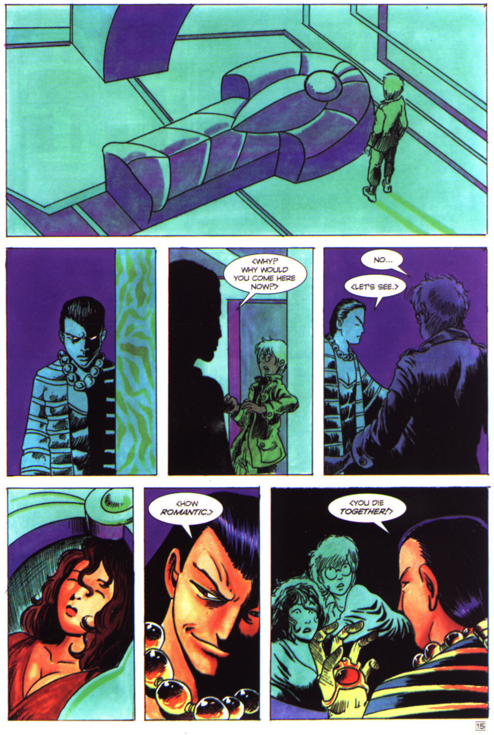 Read online Stargate comic -  Issue #4 - 17