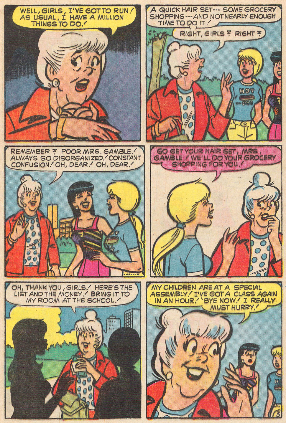 Read online Archie's Girls Betty and Veronica comic -  Issue #237 - 5