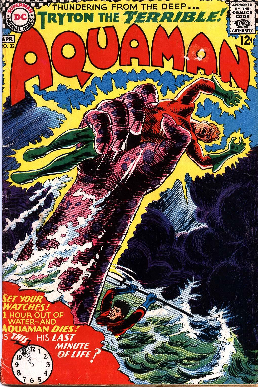 Read online Aquaman (1962) comic -  Issue #32 - 1