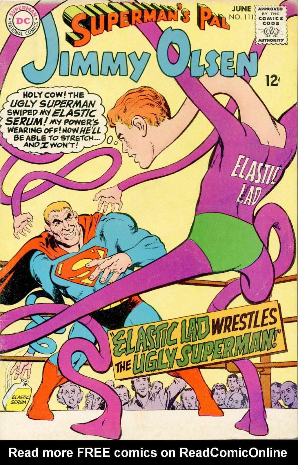 Supermans Pal Jimmy Olsen (1954) 111 Page 1
