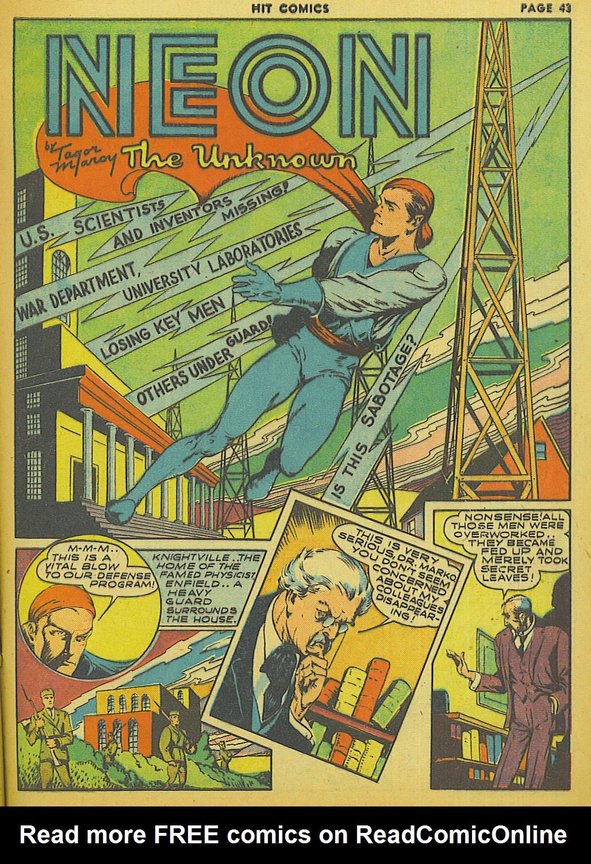 Read online Hit Comics comic -  Issue #13 - 45