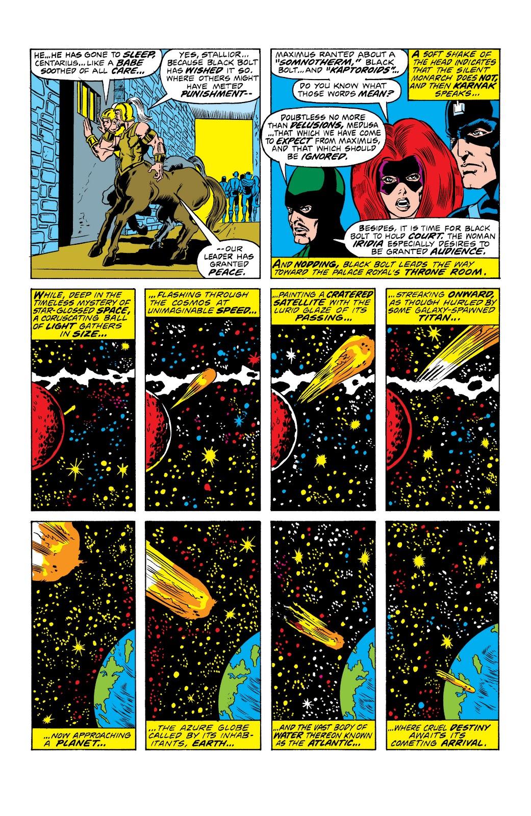Read online Marvel Masterworks: The Inhumans comic -  Issue # TPB 2 (Part 1) - 10