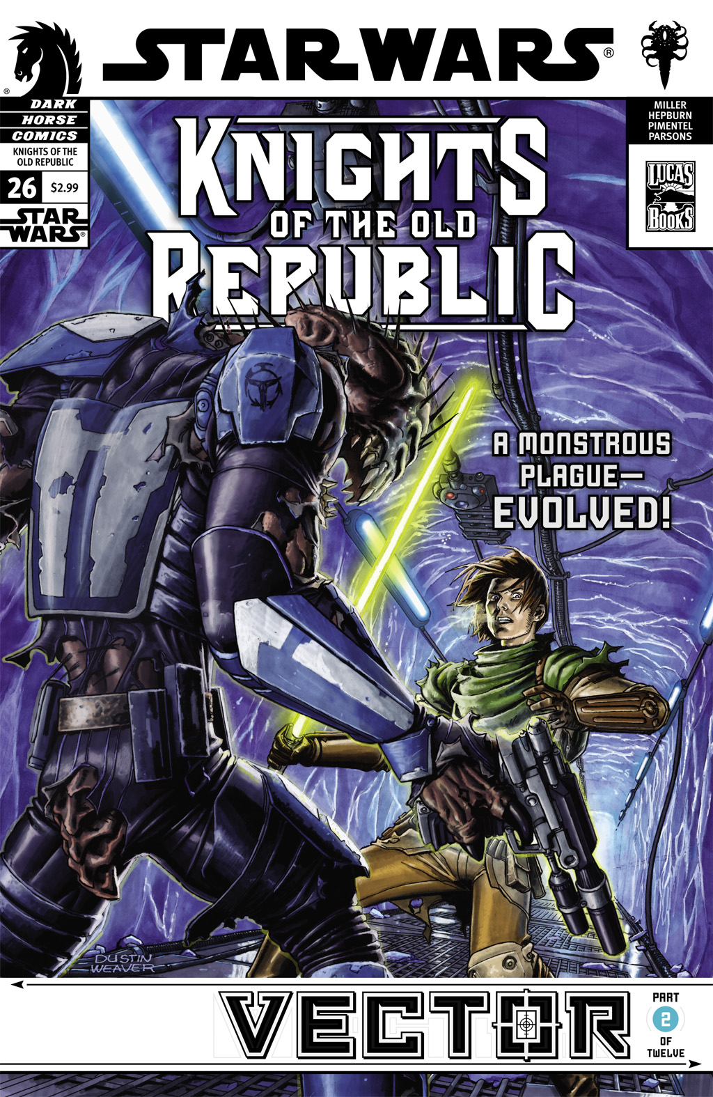Star Wars: Knights Of The Old Republic issue 26 - Page 1