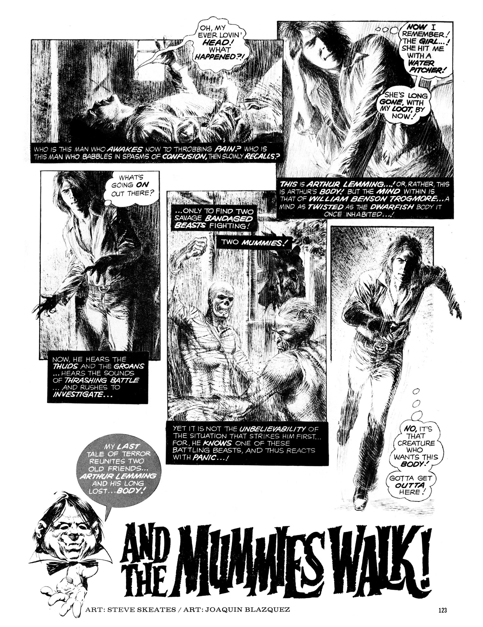 Read online Eerie Archives comic -  Issue # TPB 13 - 124