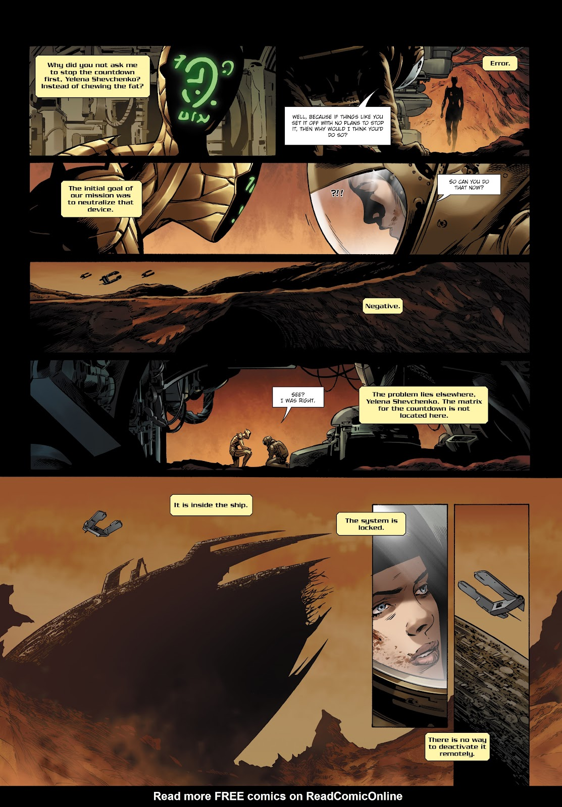 Read online Olympus Mons Vol. 1: Anomaly One comic -  Issue #5 - 17