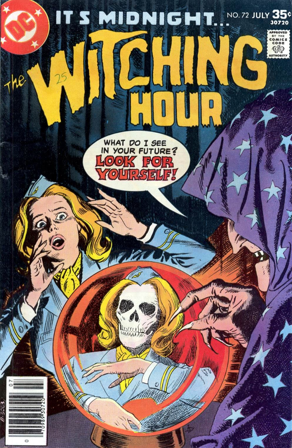The Witching Hour (1969) issue 72 - Page 1