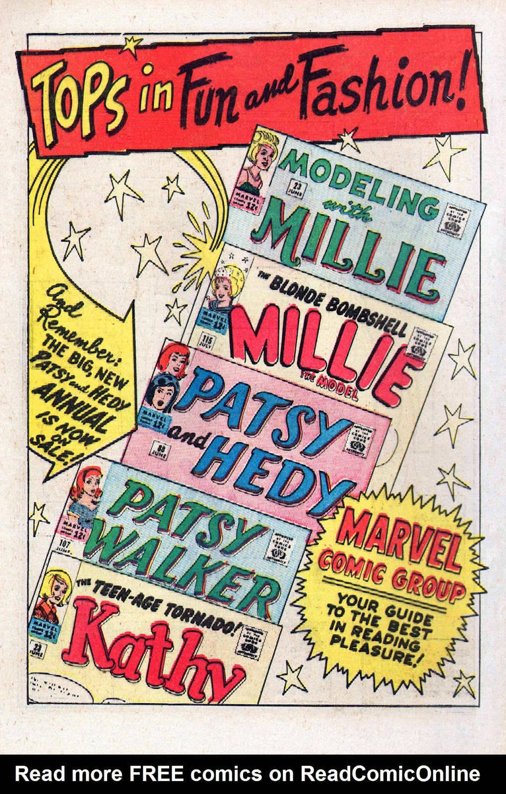 Read online Millie the Model comic -  Issue # Annual 2 - 40