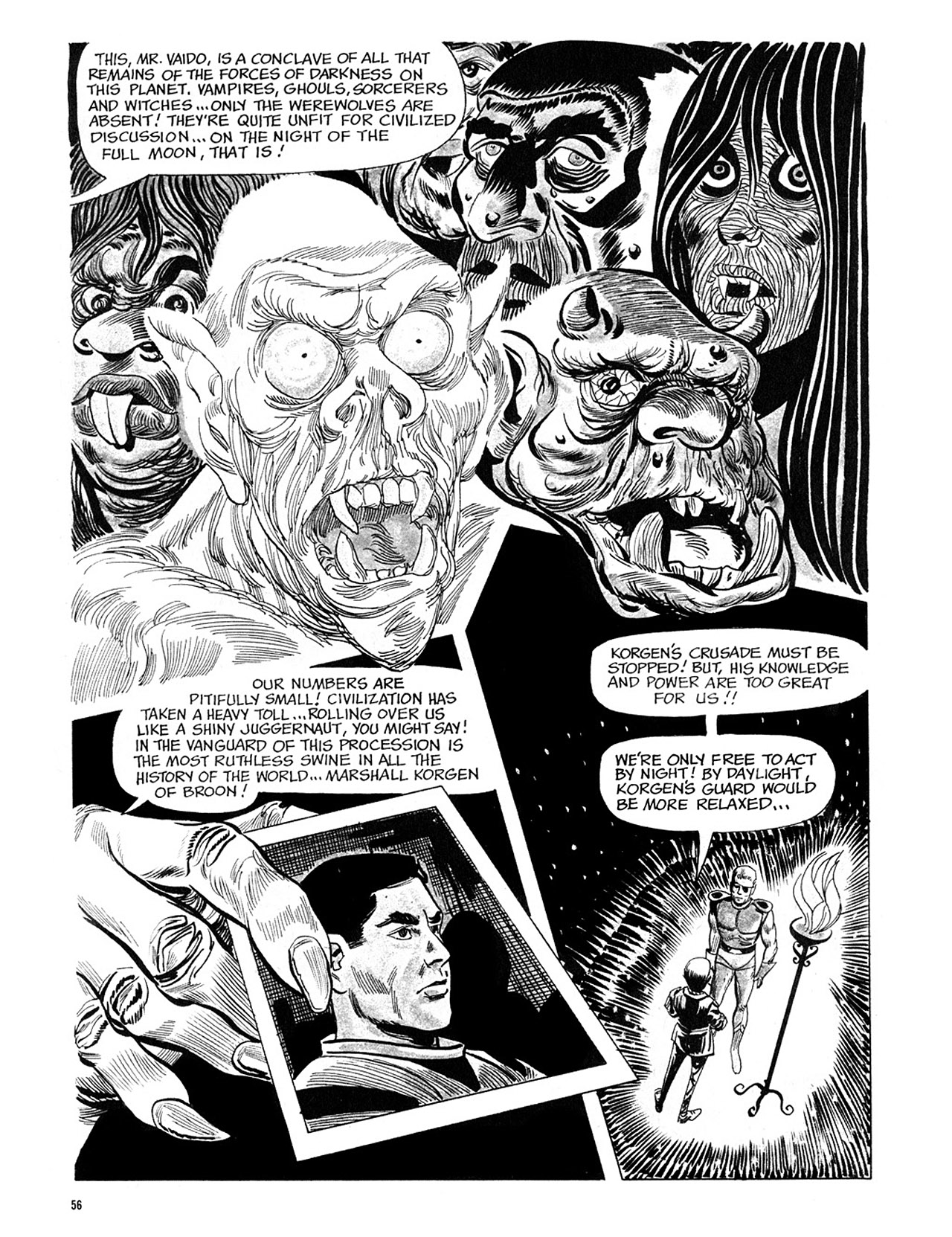 Read online Eerie Archives comic -  Issue # TPB 4 - 57