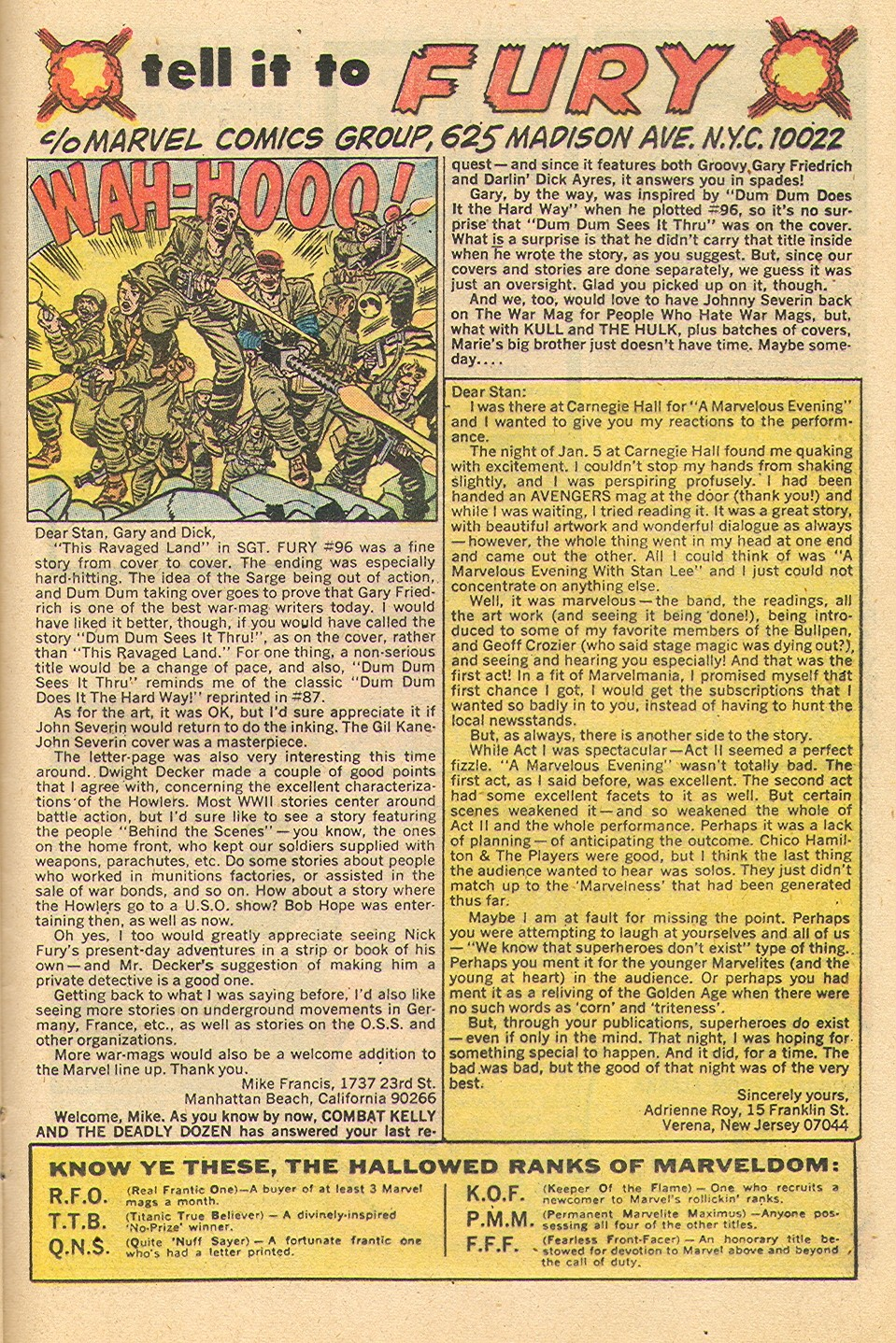 Read online Sgt. Fury comic -  Issue #100 - 24