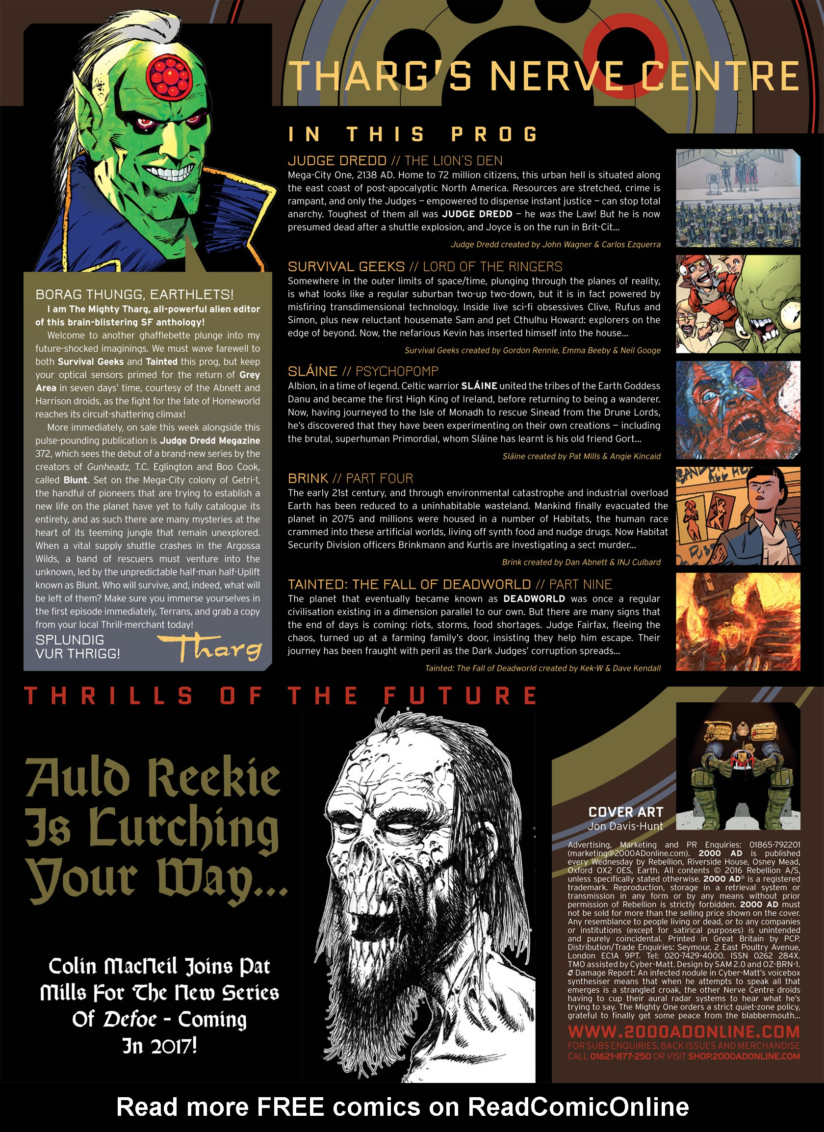 Read online 2000 AD comic -  Issue #1981 - 2