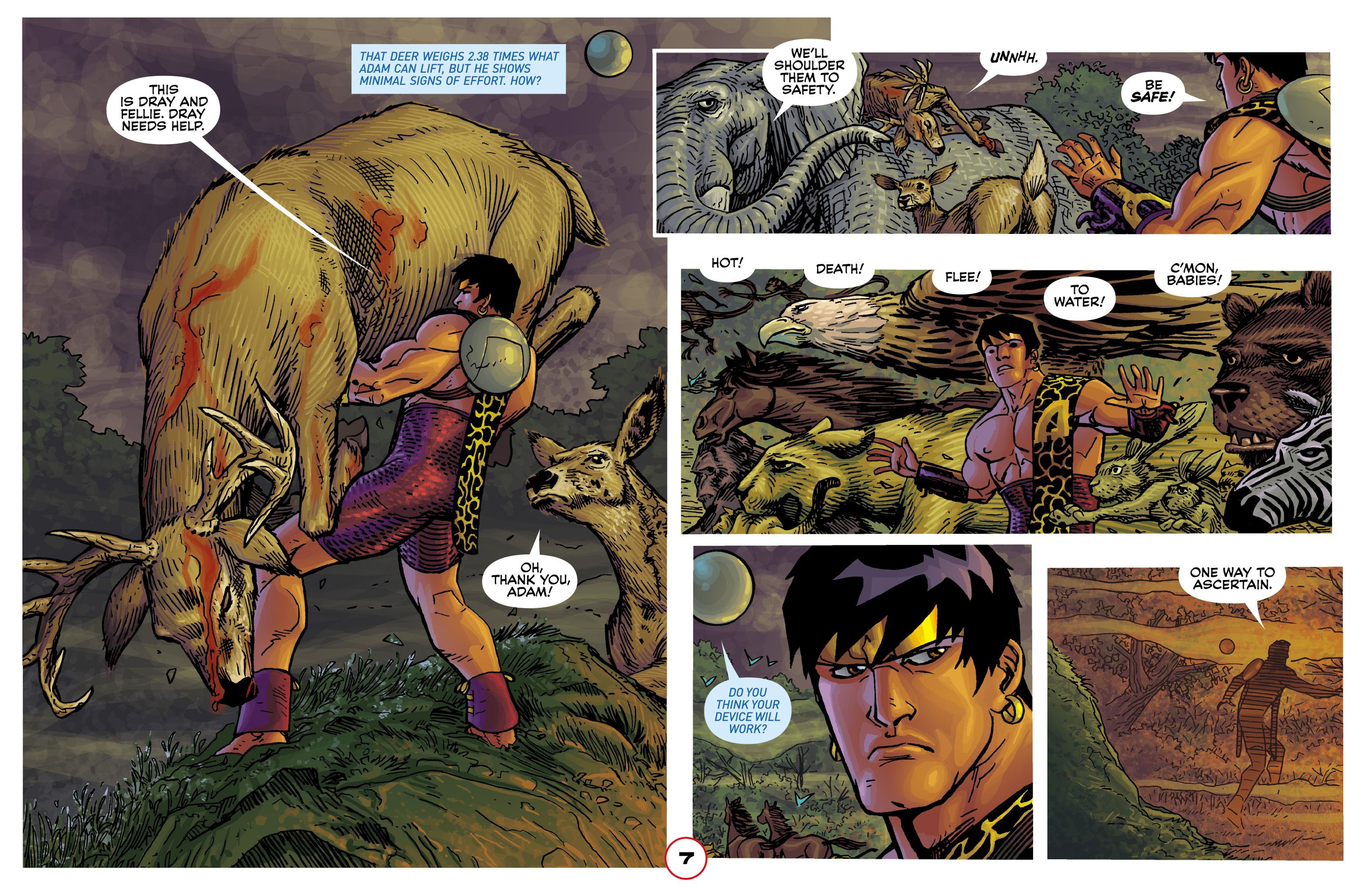 Read online Adam.3 comic -  Issue #2 - 9