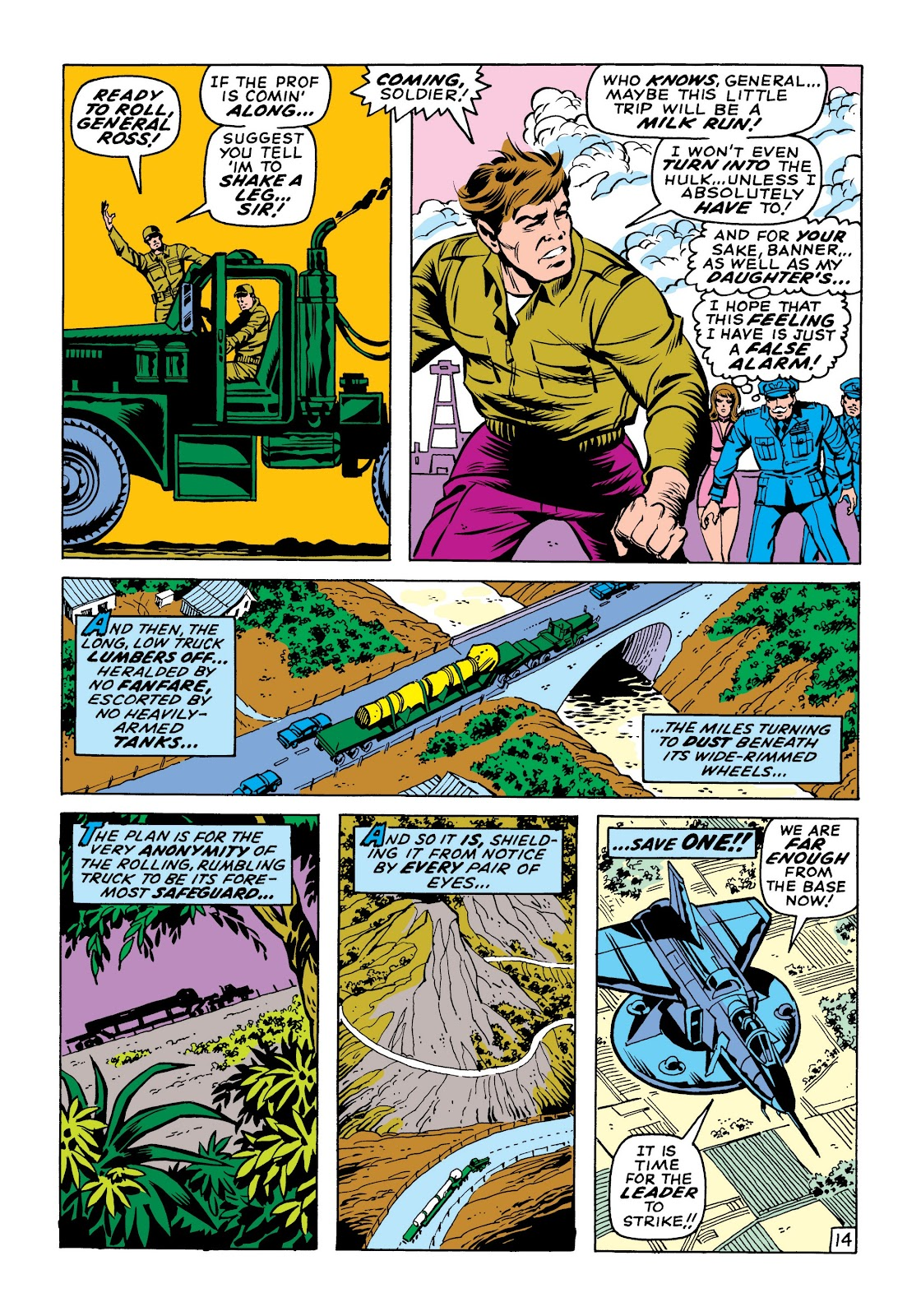 Read online Marvel Masterworks: The Incredible Hulk comic -  Issue # TPB 6 (Part 1) - 44