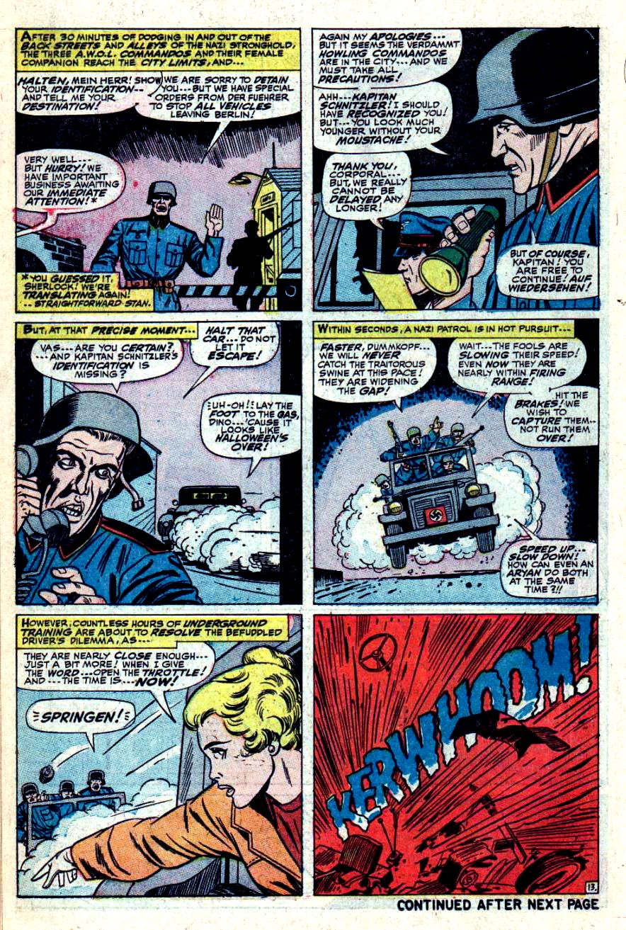 Read online Sgt. Fury comic -  Issue #42 - 18