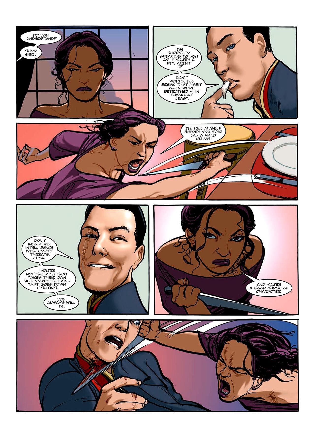 Read online Nikolai Dante comic -  Issue # TPB 10 - 140