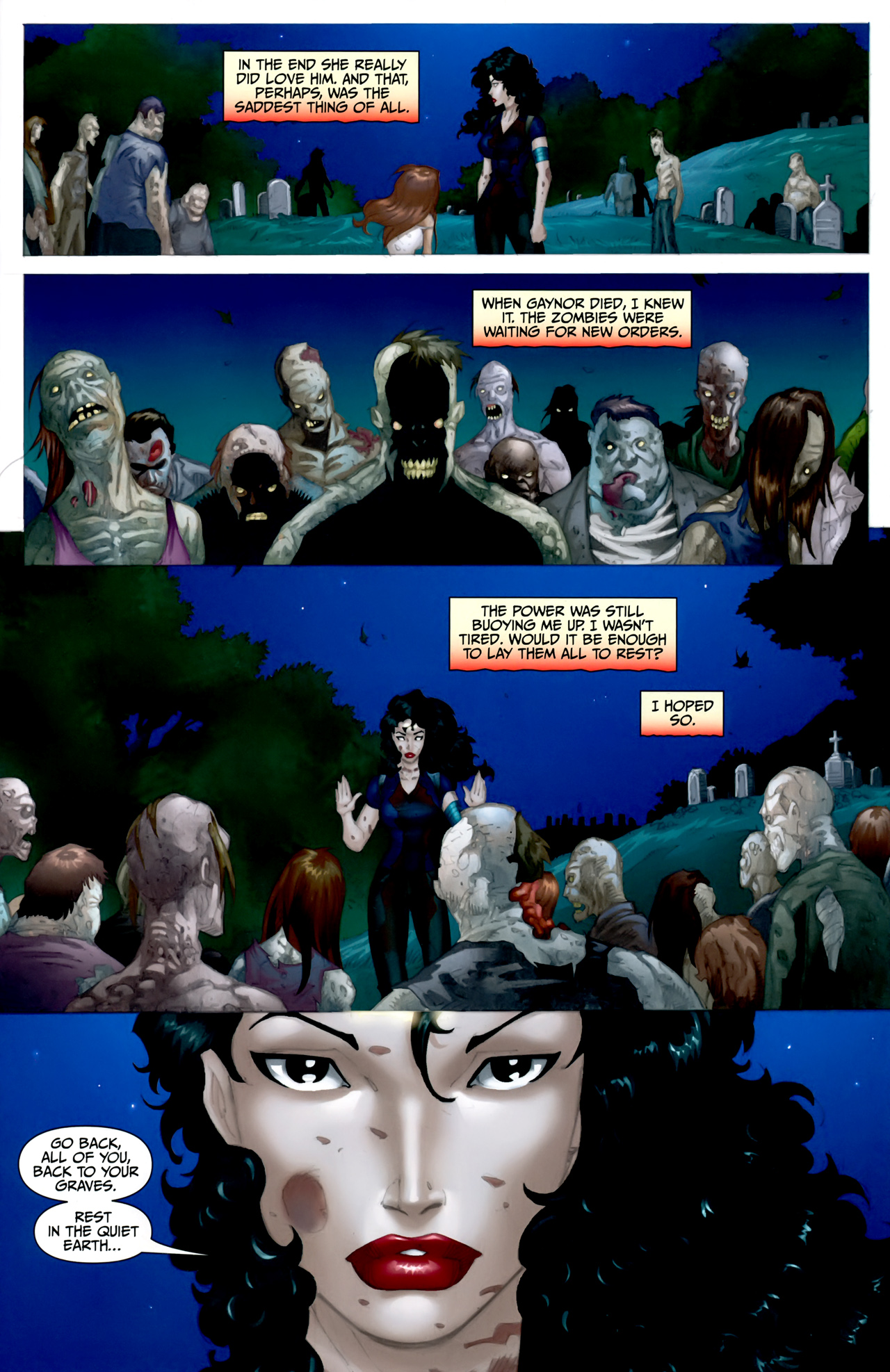 Read online Anita Blake: The Laughing Corpse - Executioner comic -  Issue #5 - 16
