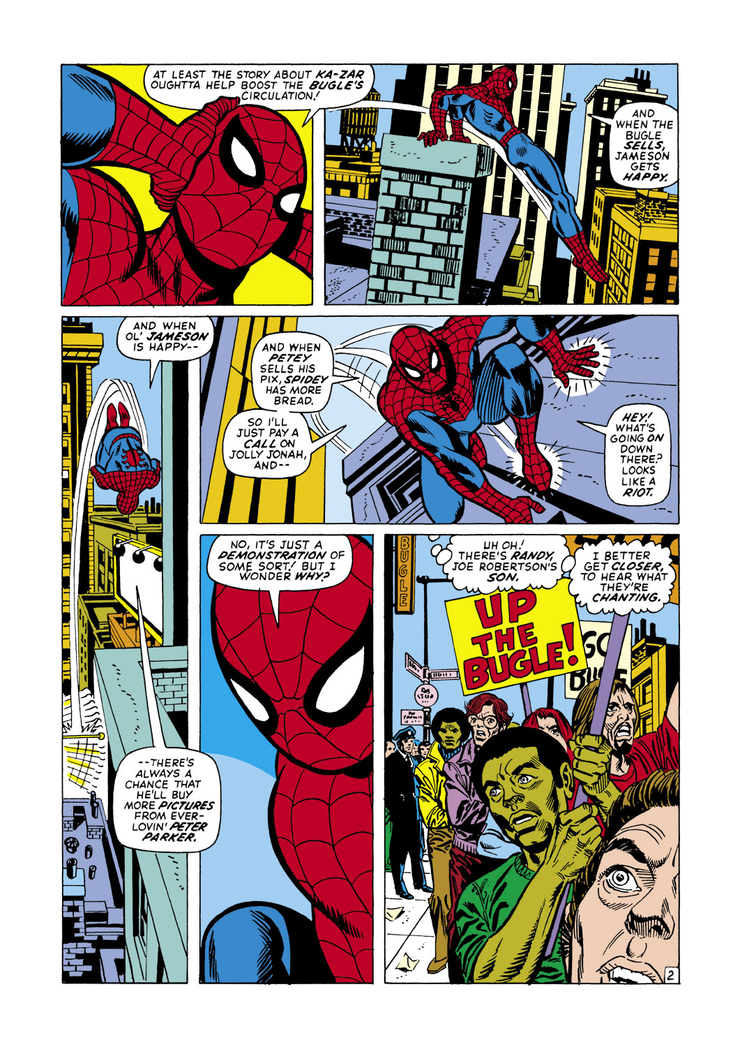 The Amazing Spider-Man (1963) 105 Page 2