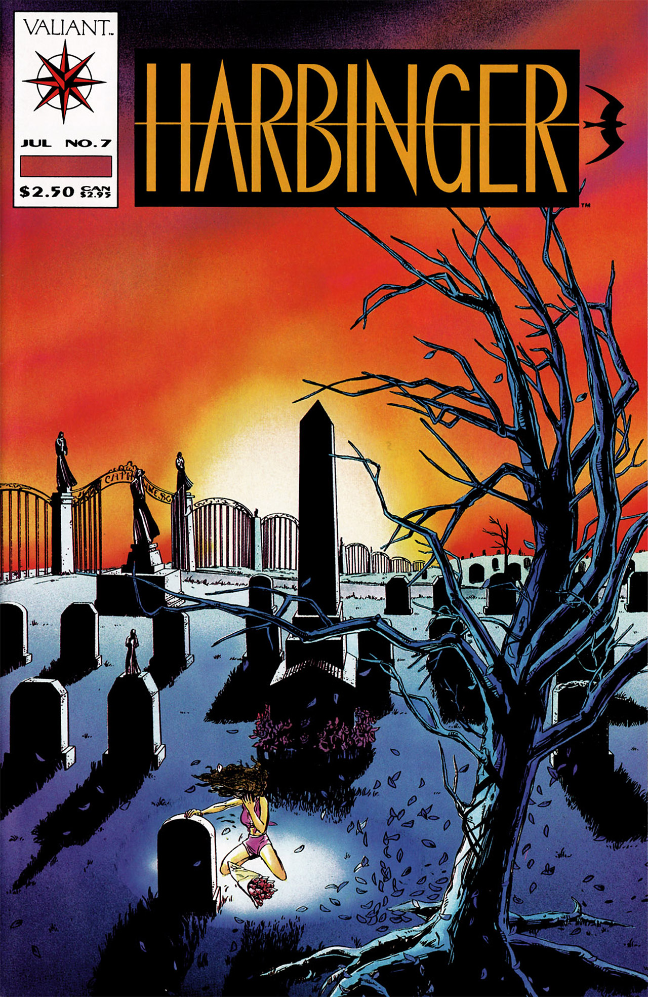 Read online Harbinger (1992) comic -  Issue #7 - 1