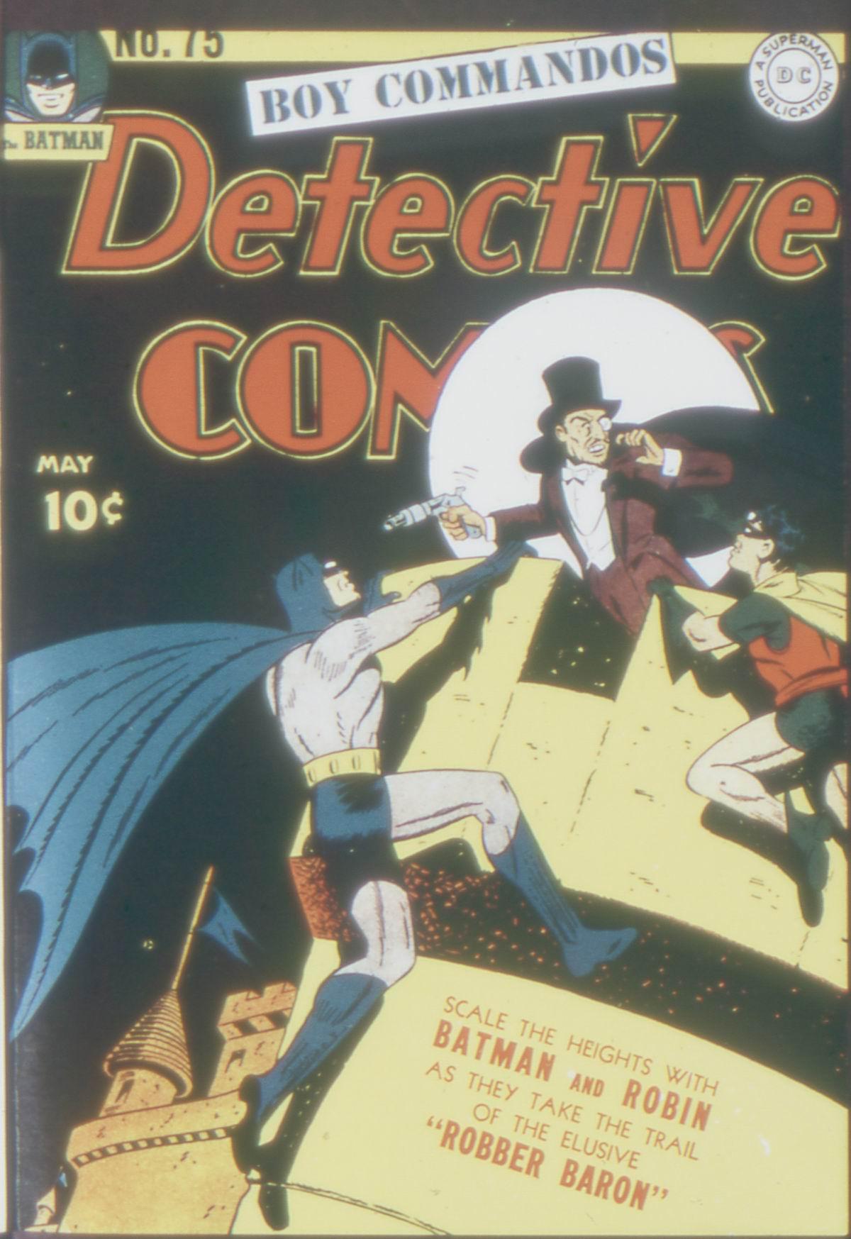 Detective Comics (1937) 75 Page 0