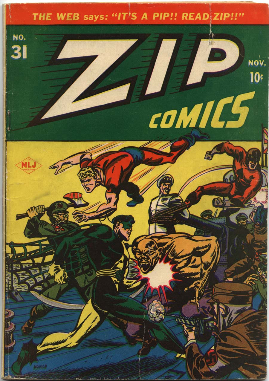 Zip Comics 31 Page 1