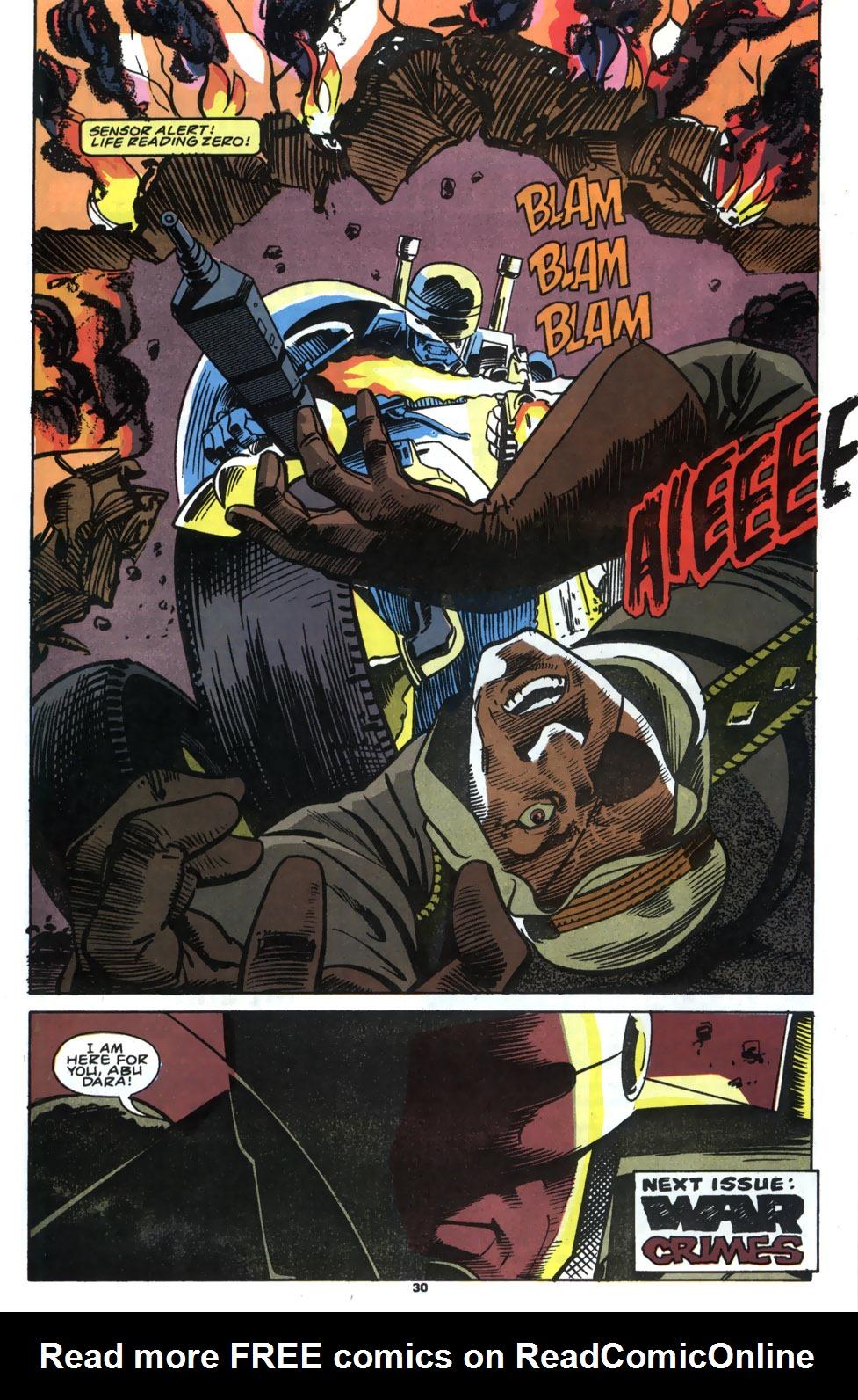 Read online Robocop (1990) comic -  Issue #5 - 23