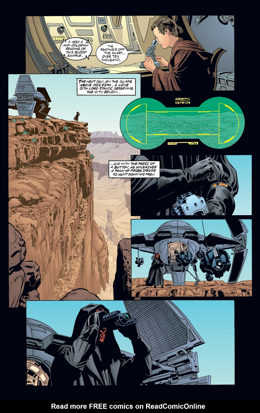 Read online Star Wars Legends: Rise of the Sith - Epic Collection comic -  Issue # TPB 2 (Part 3) - 80