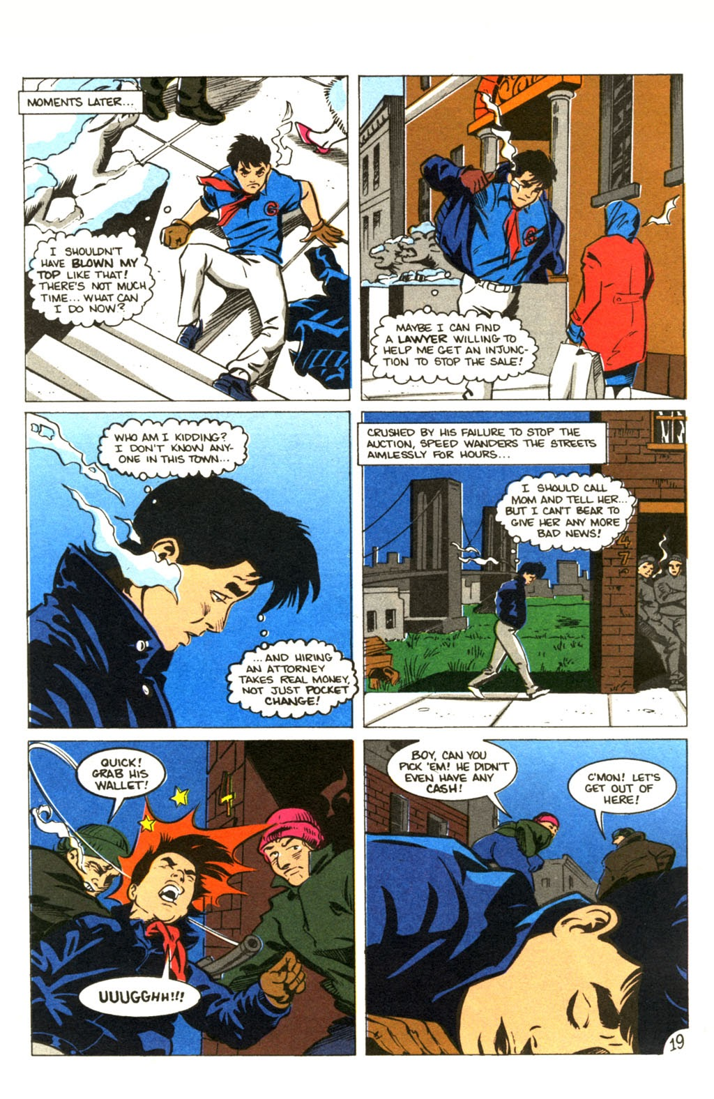 Speed Racer (1987) issue 30 - Page 24