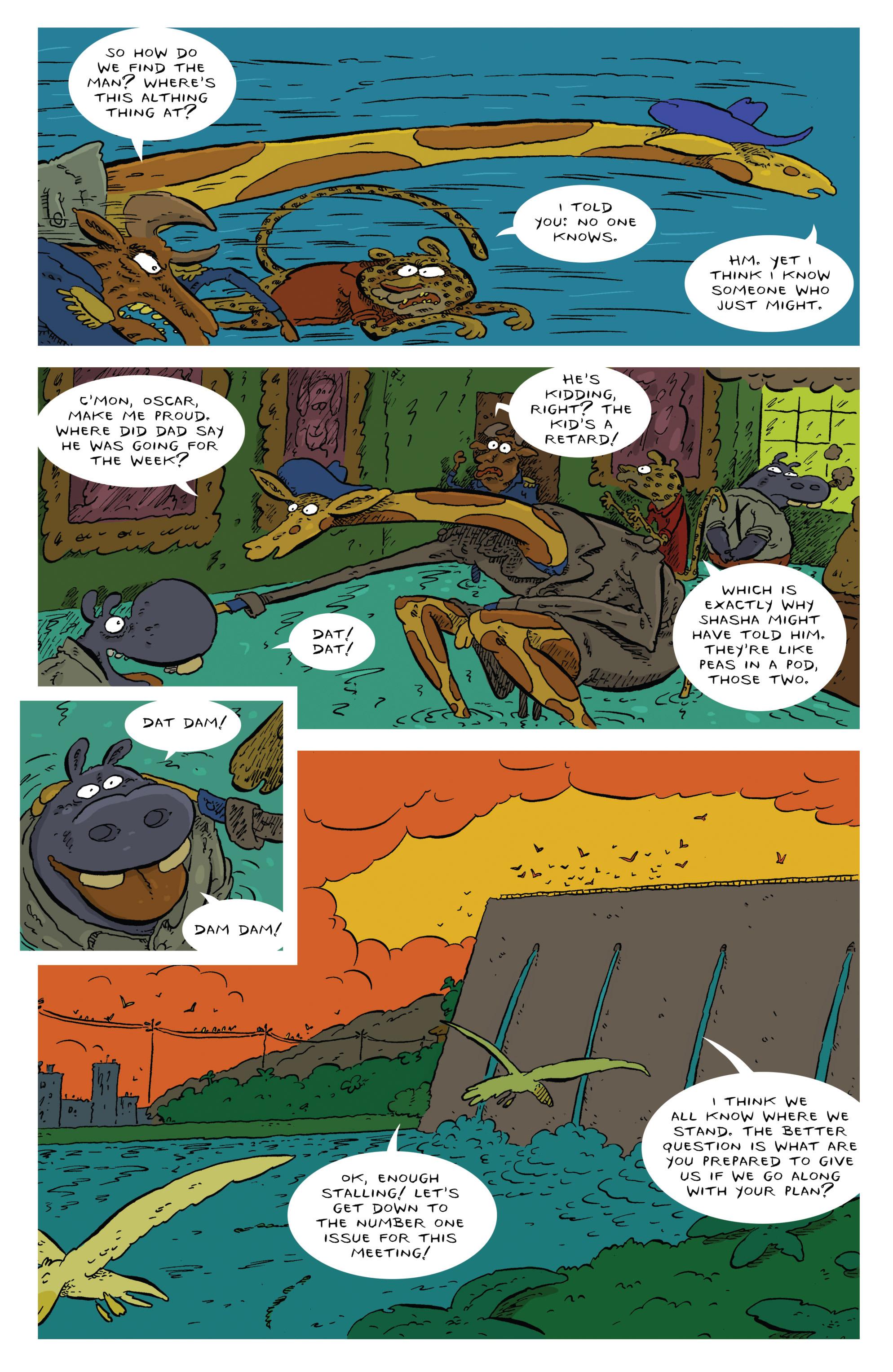 Read online Animal Noir comic -  Issue #4 - 15