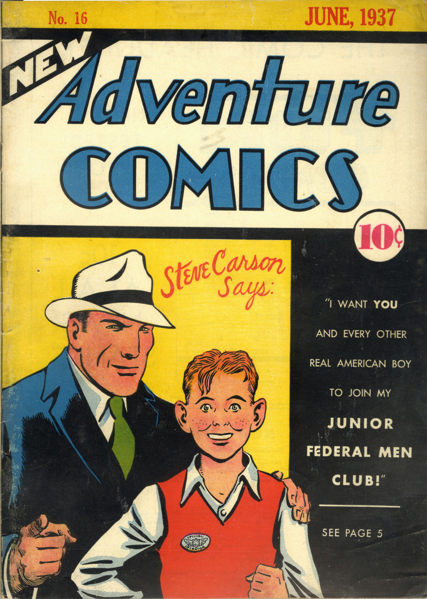 Read online Adventure Comics (1938) comic -  Issue #16 - 2