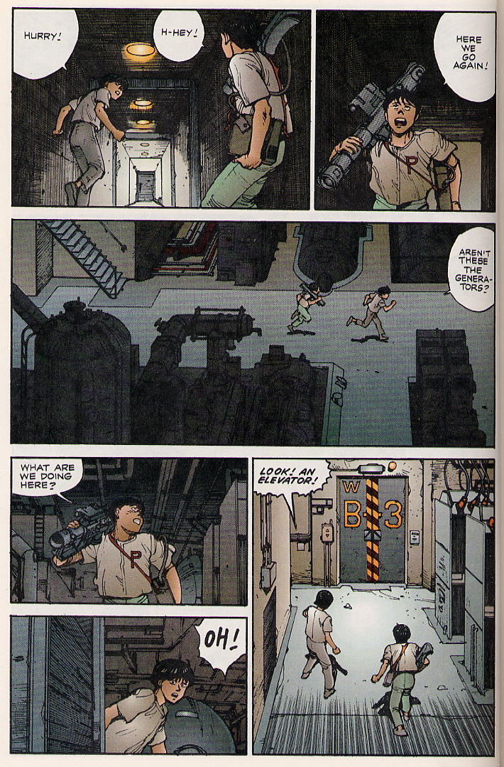 Read online Akira comic -  Issue #8 - 40