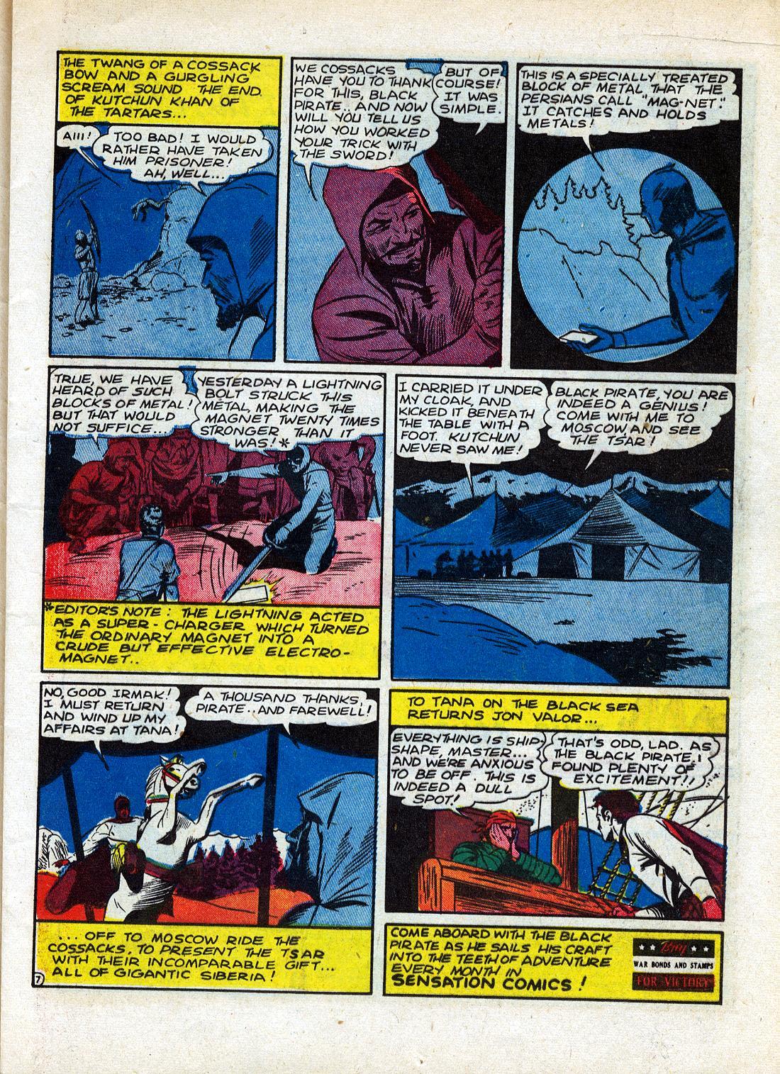 Read online Sensation (Mystery) Comics comic -  Issue #26 - 23