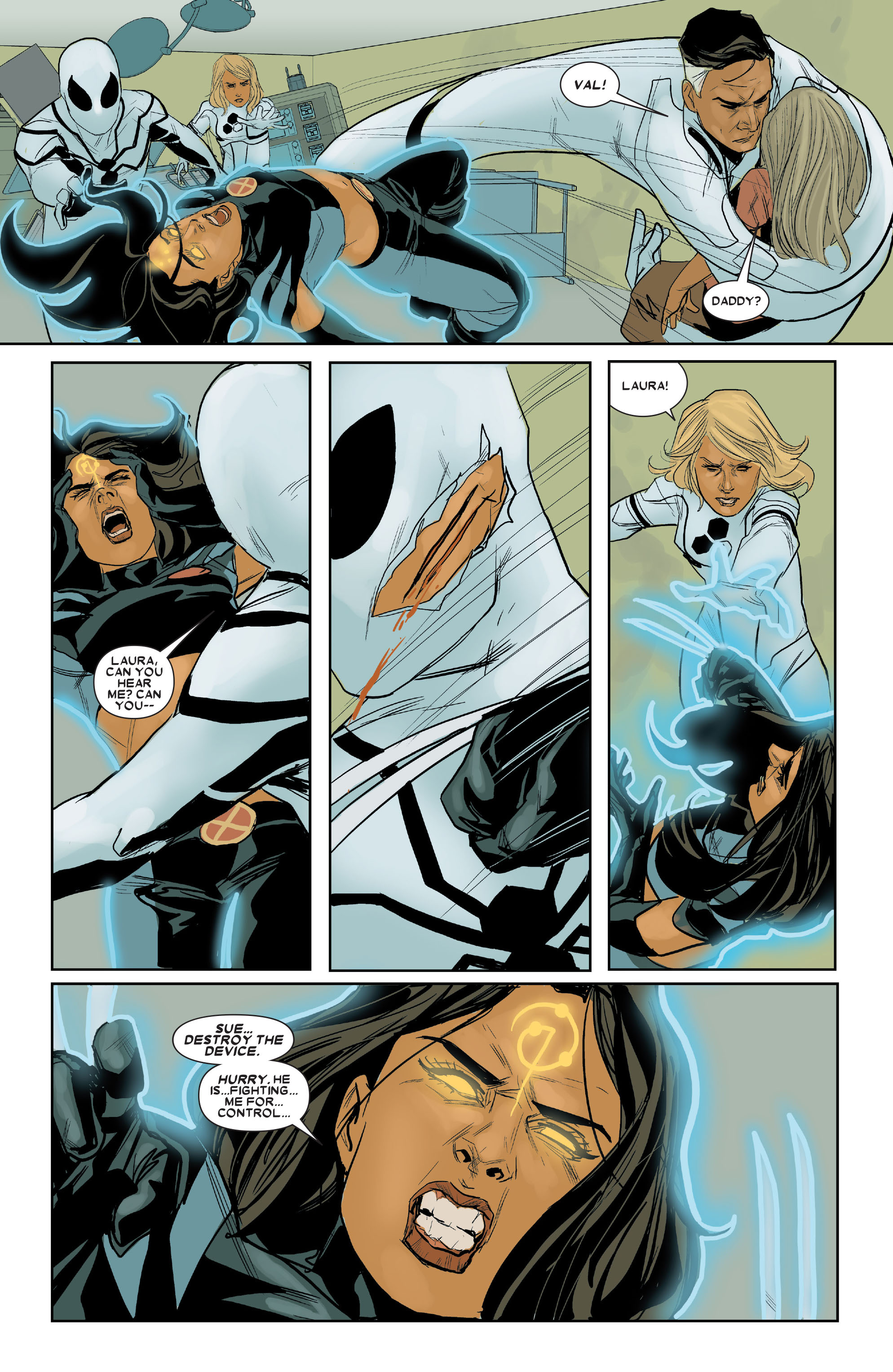 Read online X-23 (2010) comic -  Issue #16 - 6