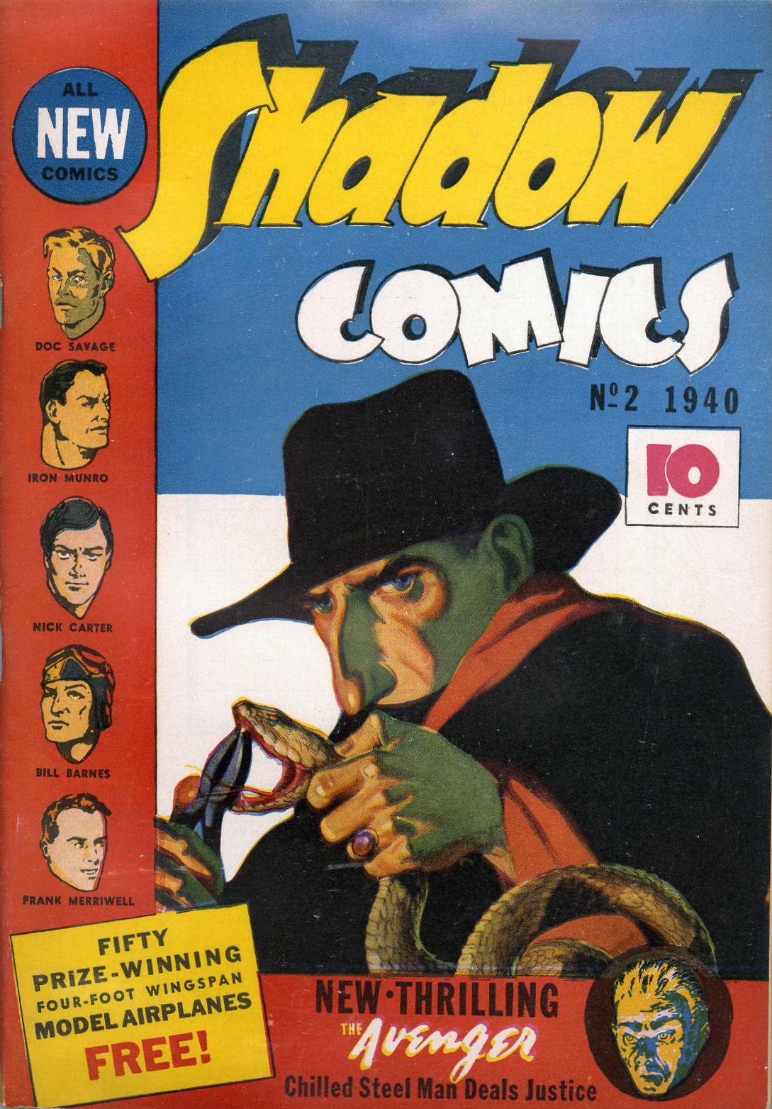Read online Shadow Comics comic -  Issue #2 - 2