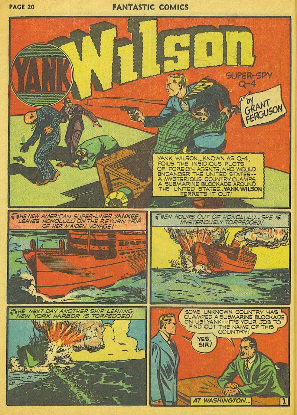 Read online Fantastic Comics comic -  Issue #15 - 14