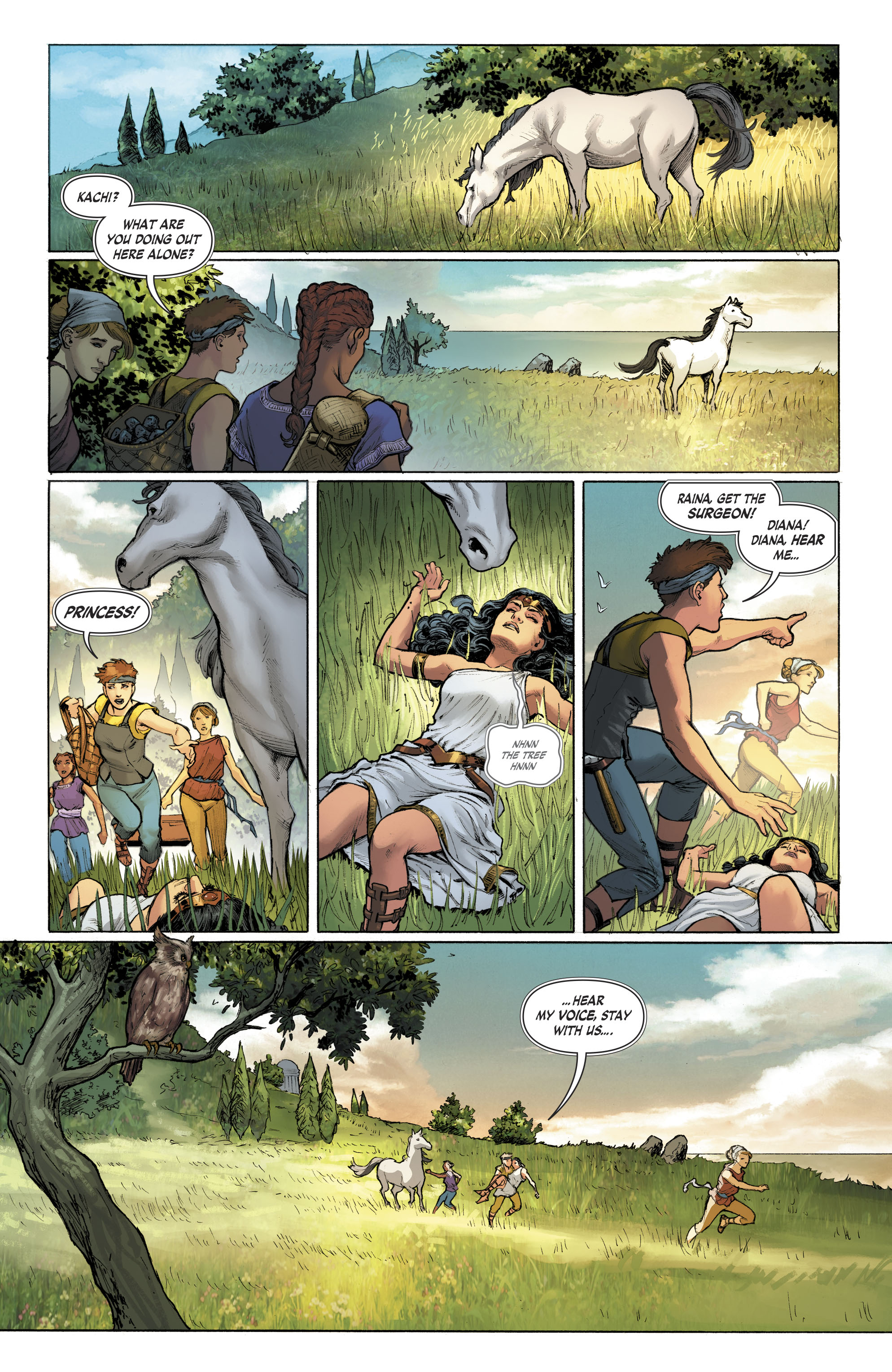 Read online Free Comic Book Day 2017 comic -  Issue # Wonder Woman - 12