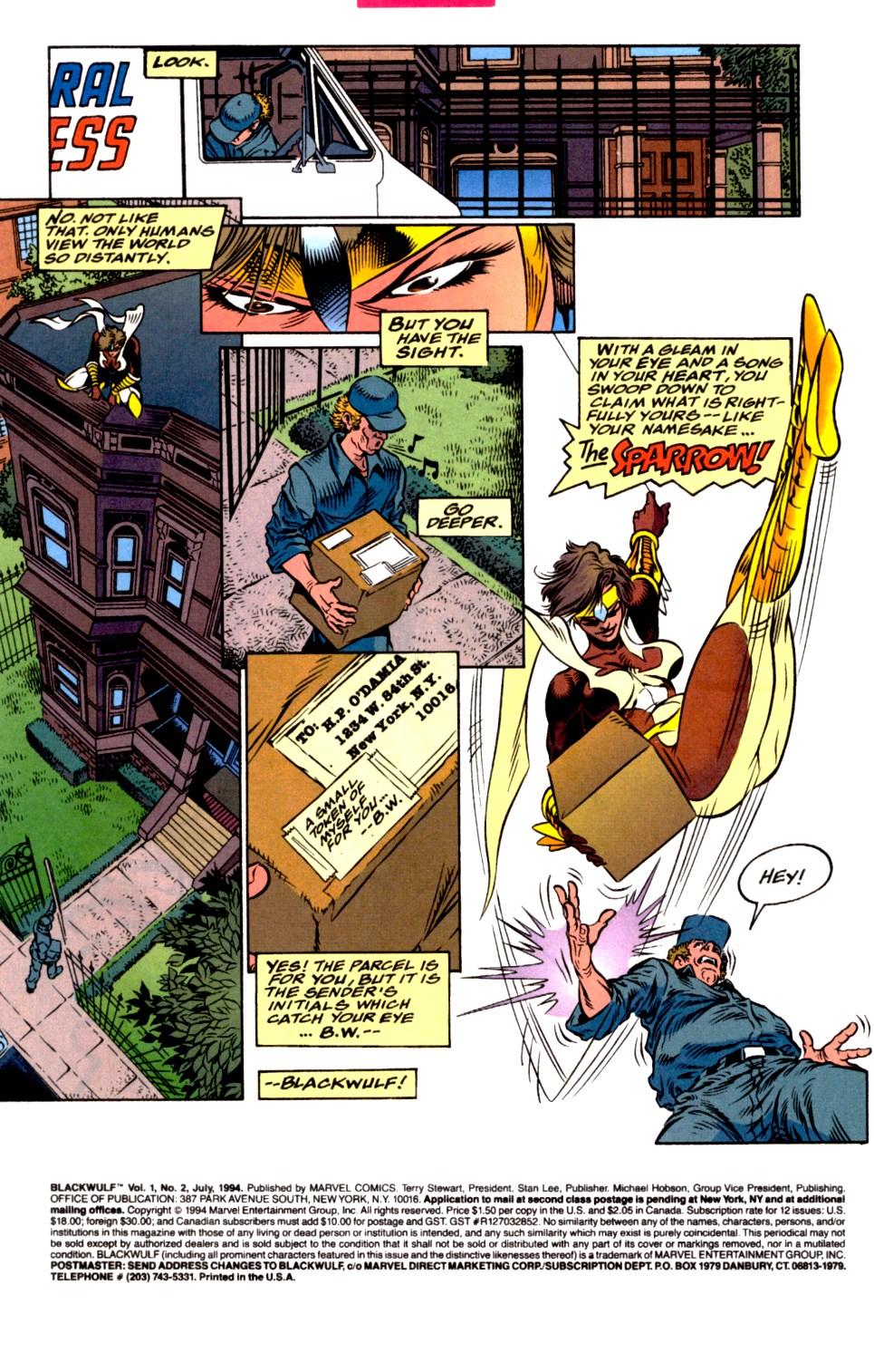 Read online Blackwulf comic -  Issue #2 - 2