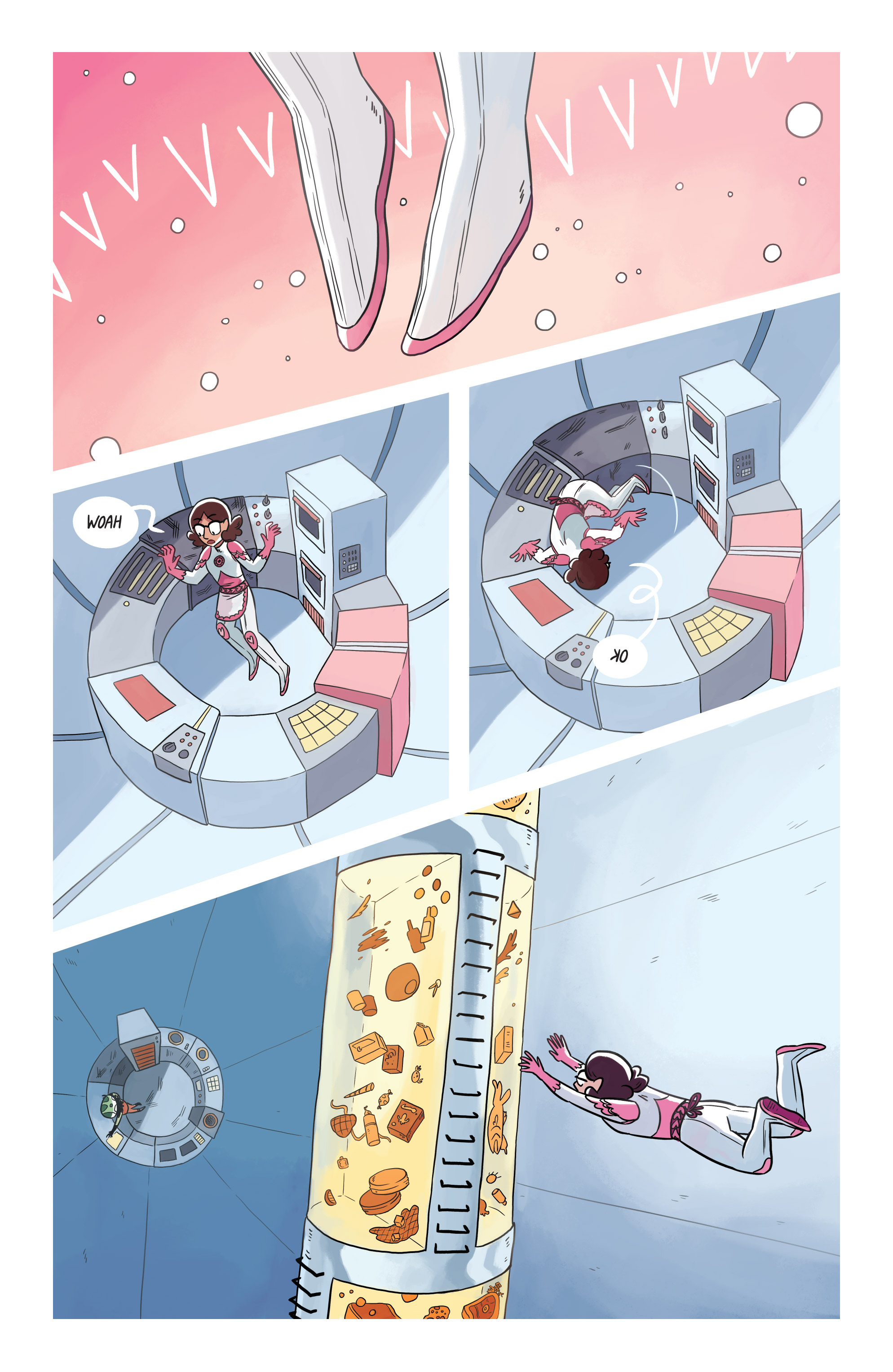 Read online Space Battle Lunchtime comic -  Issue #8 - 9