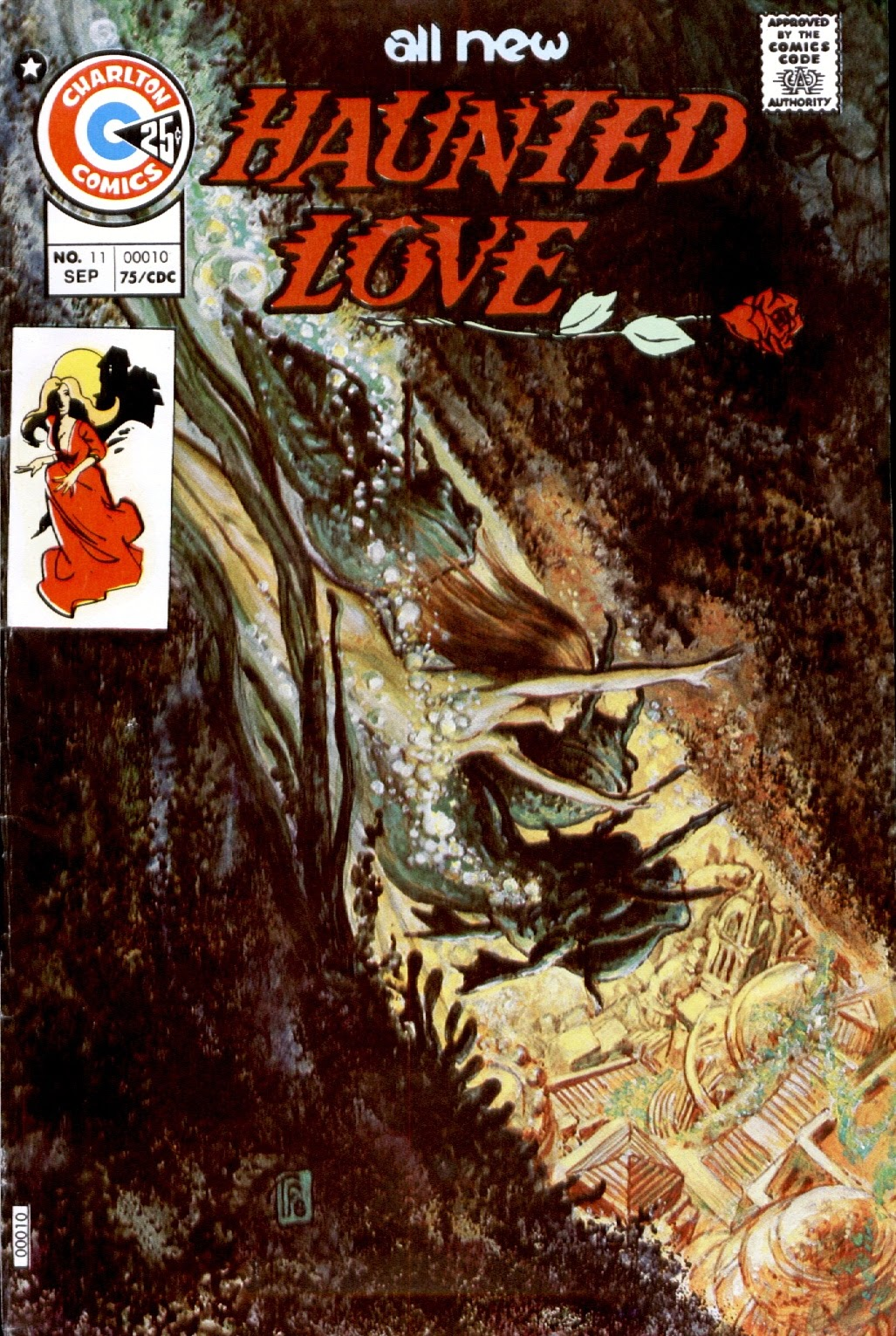 Haunted Love (1973) issue 11 - Page 1
