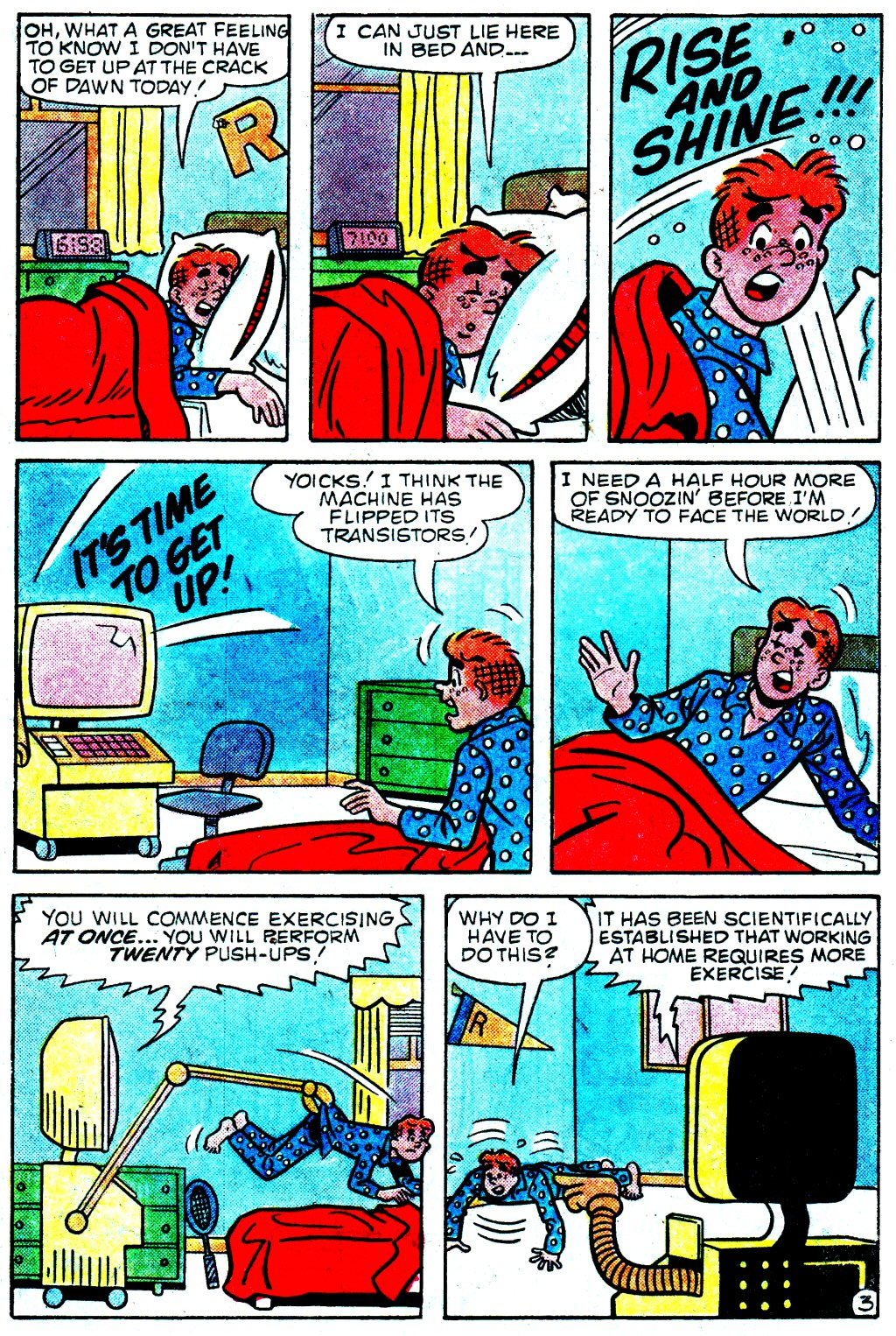 Read online Archie (1960) comic -  Issue #329 - 15