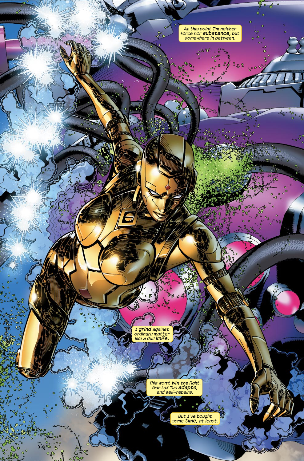 Read online Ultimate Vision comic -  Issue #4 - 6