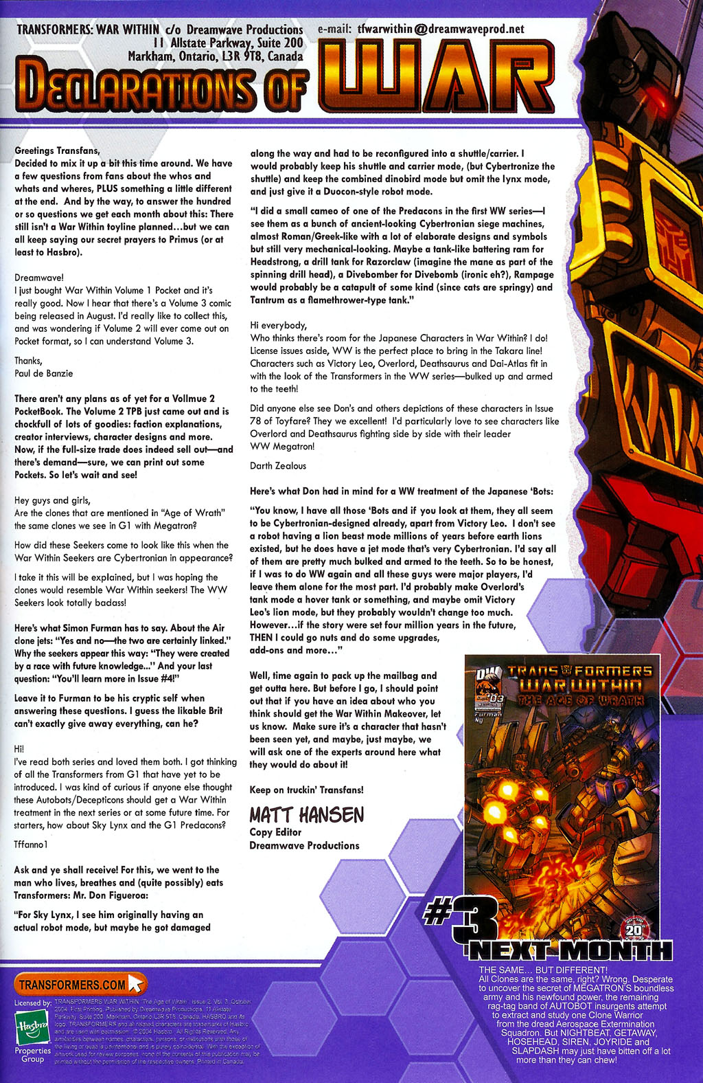 """Read online Transformers War Within: """"The Age of Wrath"""" comic -  Issue #2 - 23"""