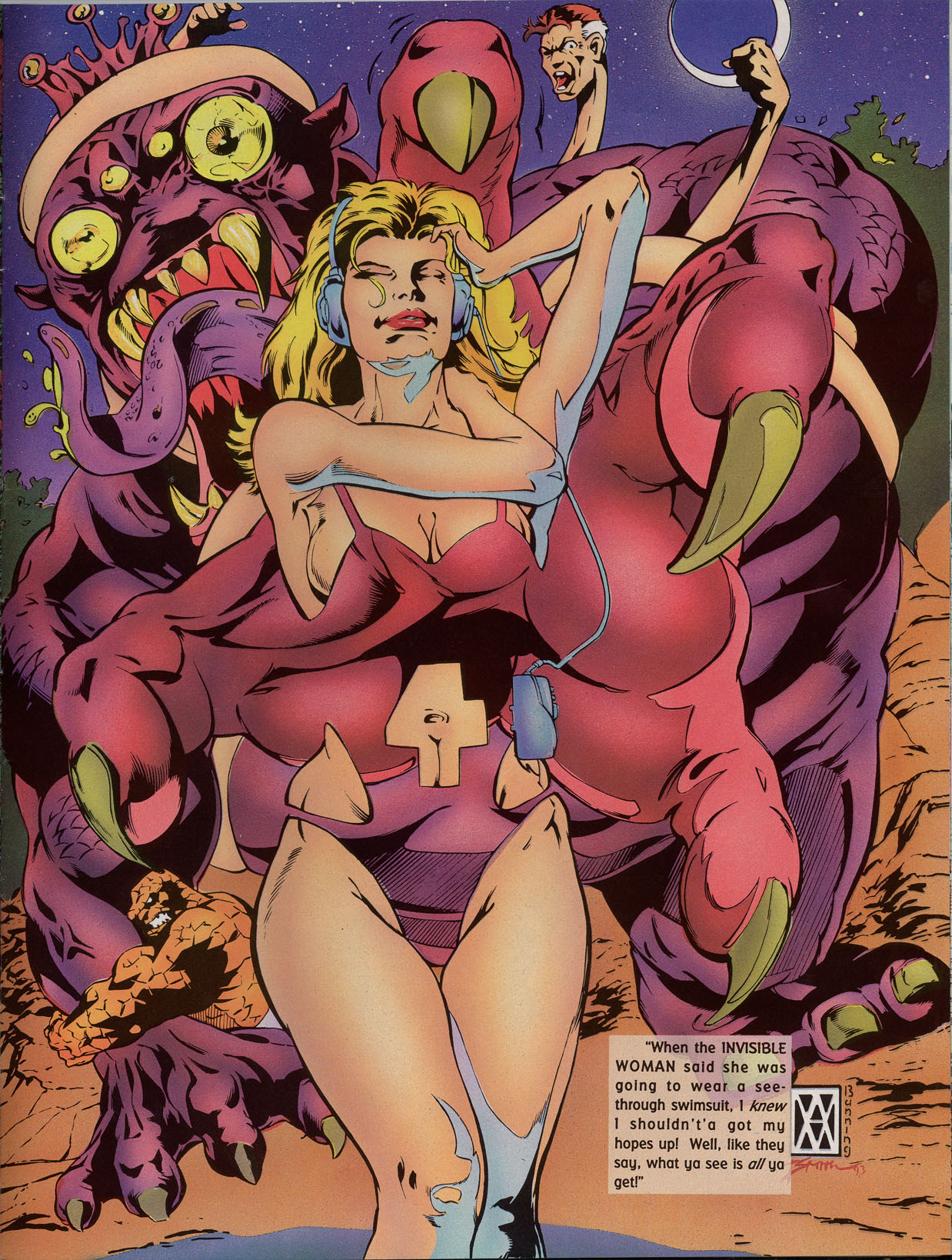 Read online Marvel Swimsuit Special comic -  Issue #2 - 35