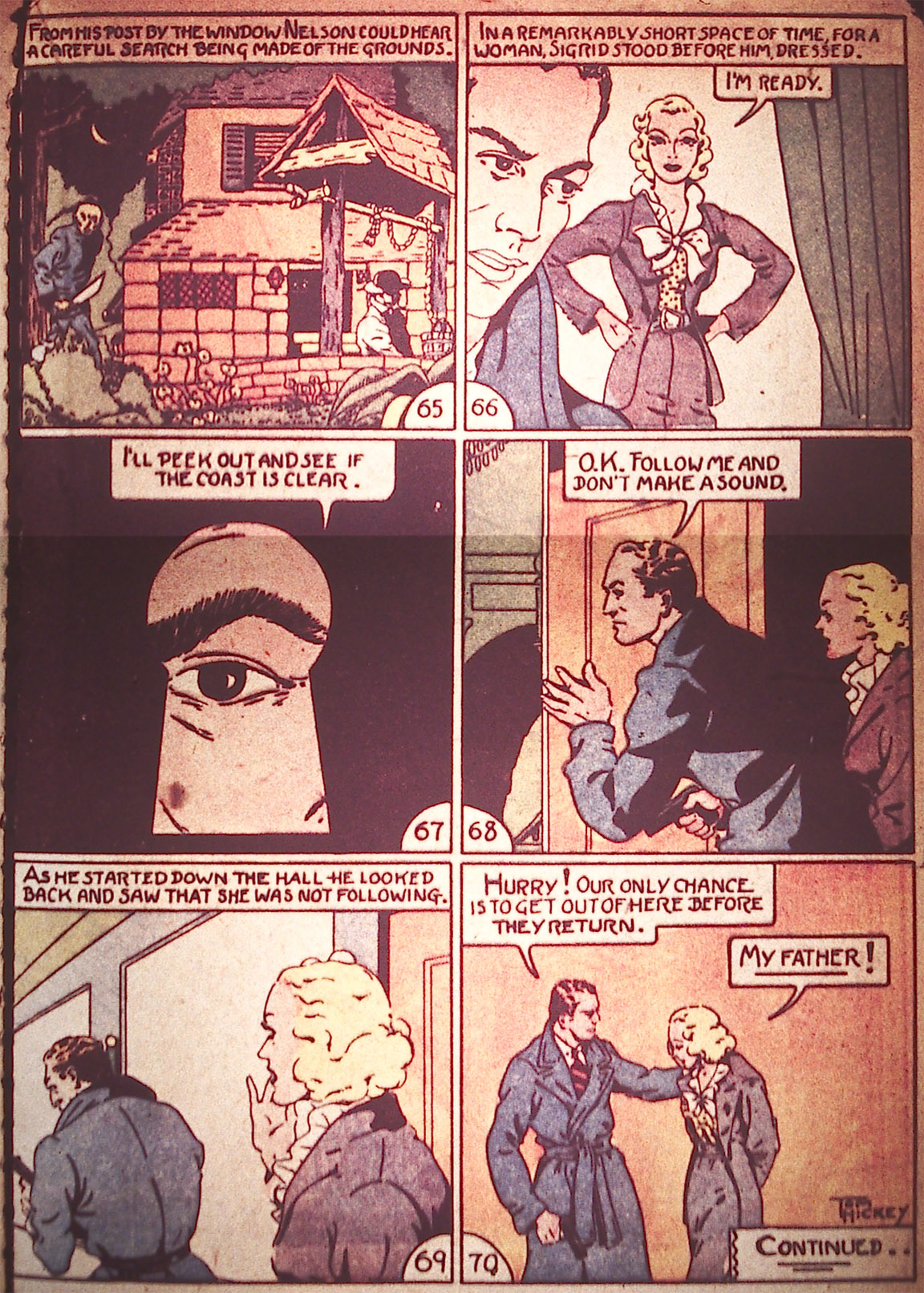 Read online Detective Comics (1937) comic -  Issue #5 - 33