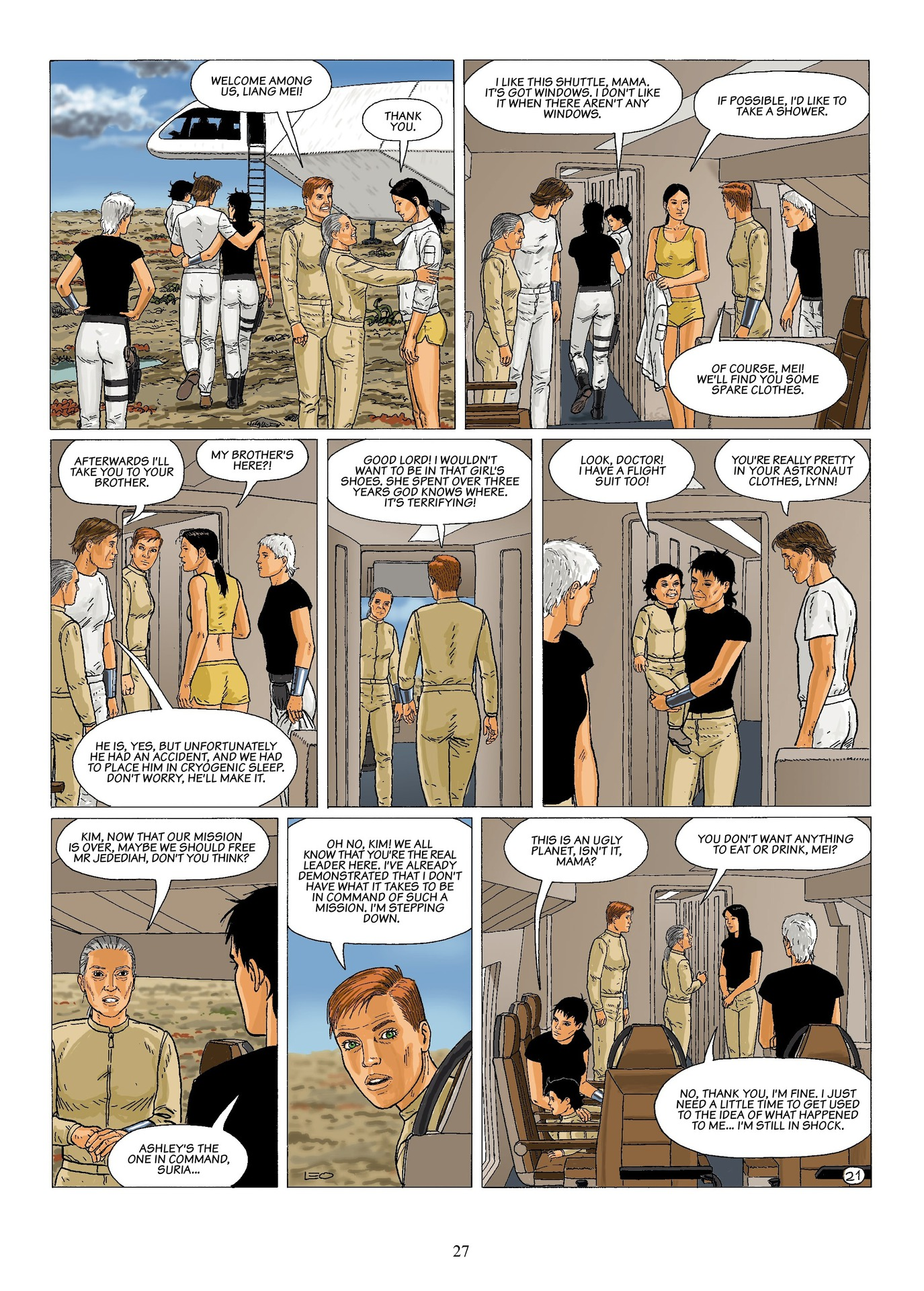 Read online Antares comic -  Issue #6 - 29