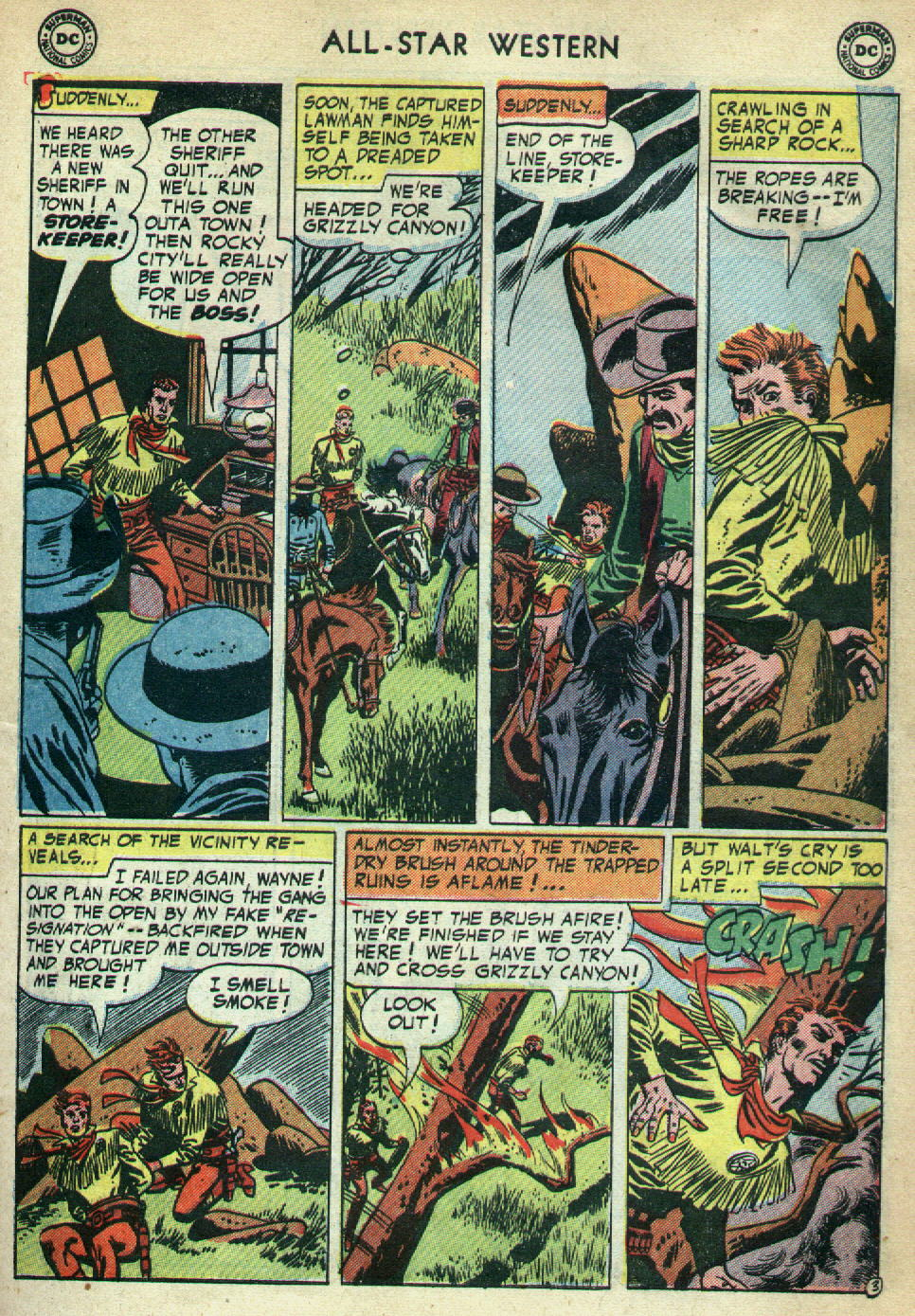Read online All-Star Western (1951) comic -  Issue #79 - 31