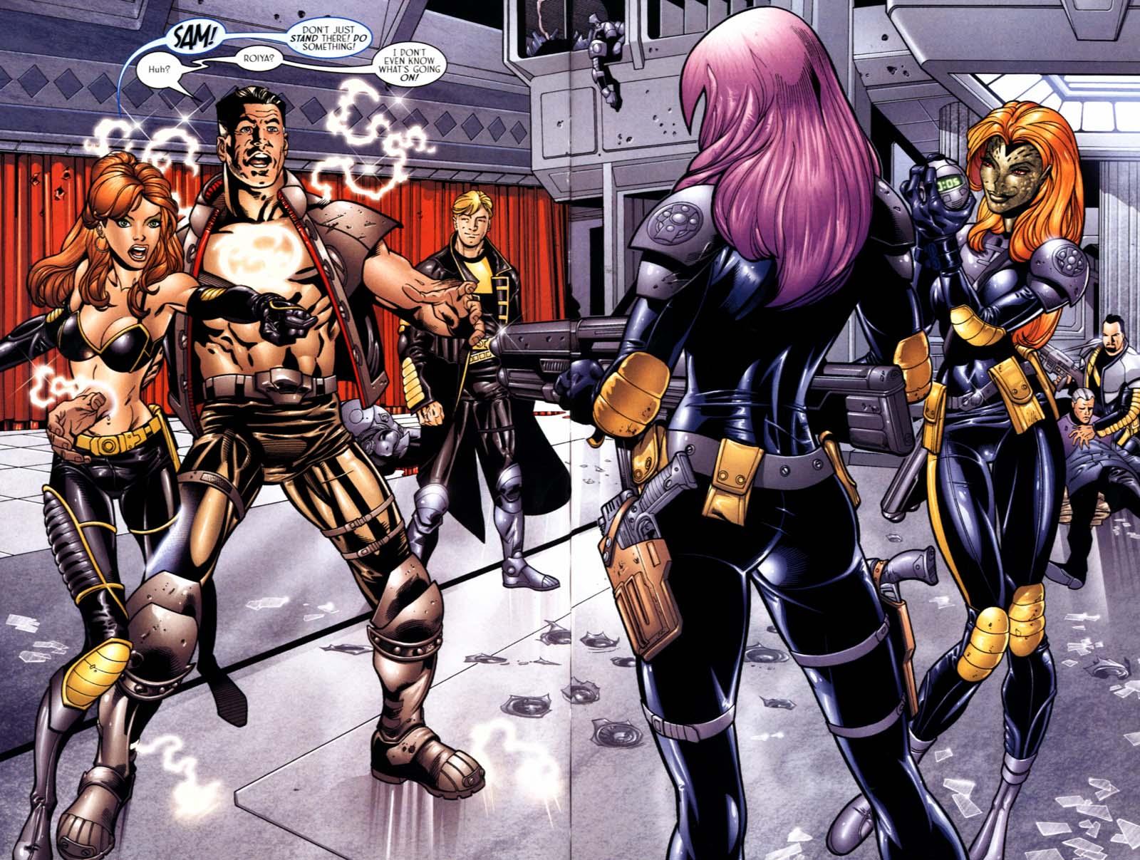 Read online Sigil (2000) comic -  Issue #22 - 6